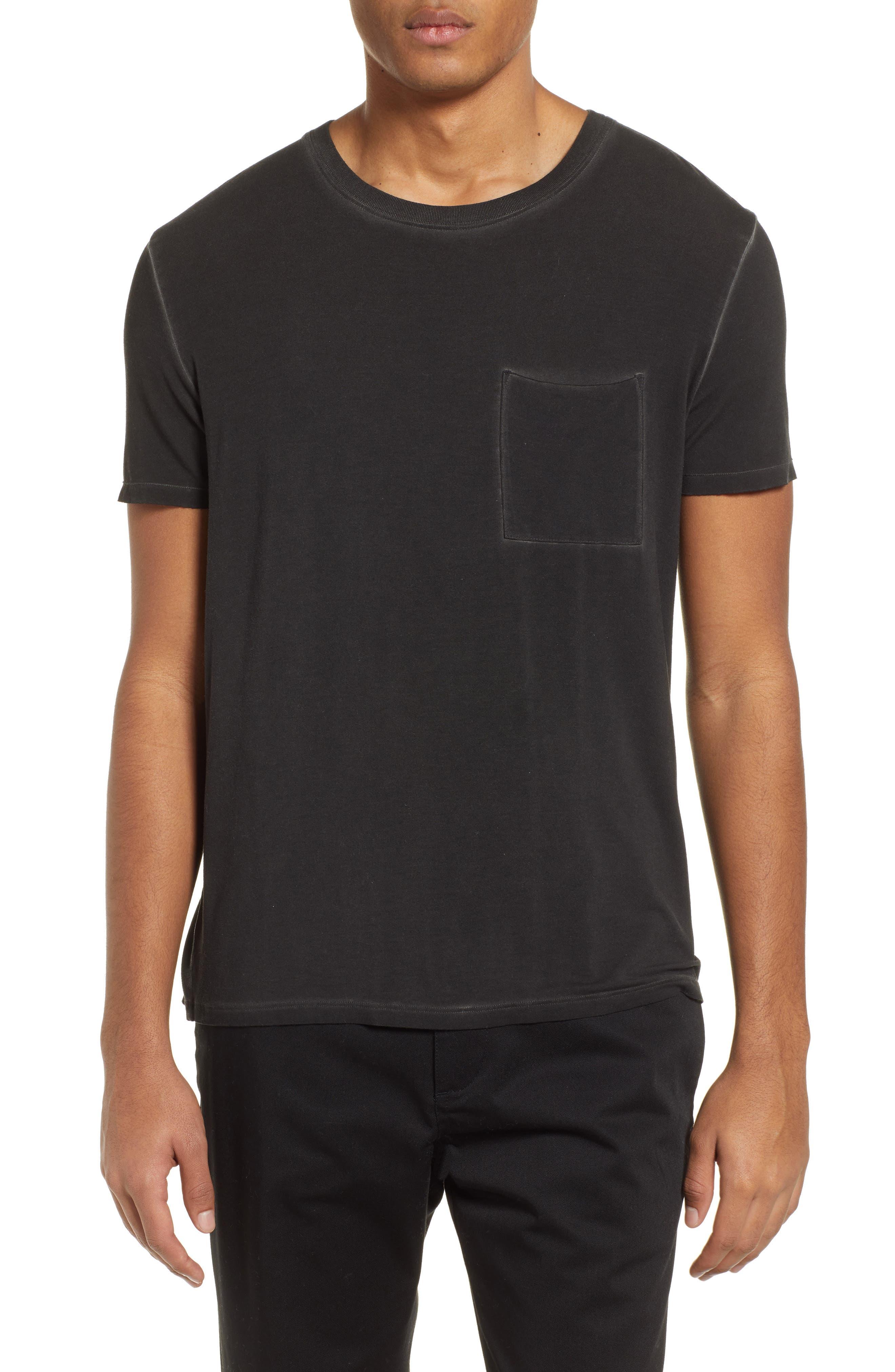 ATM ANTHONY THOMAS MELILLO, Sun Bleached Oversized T-Shirt, Main thumbnail 1, color, BLACK