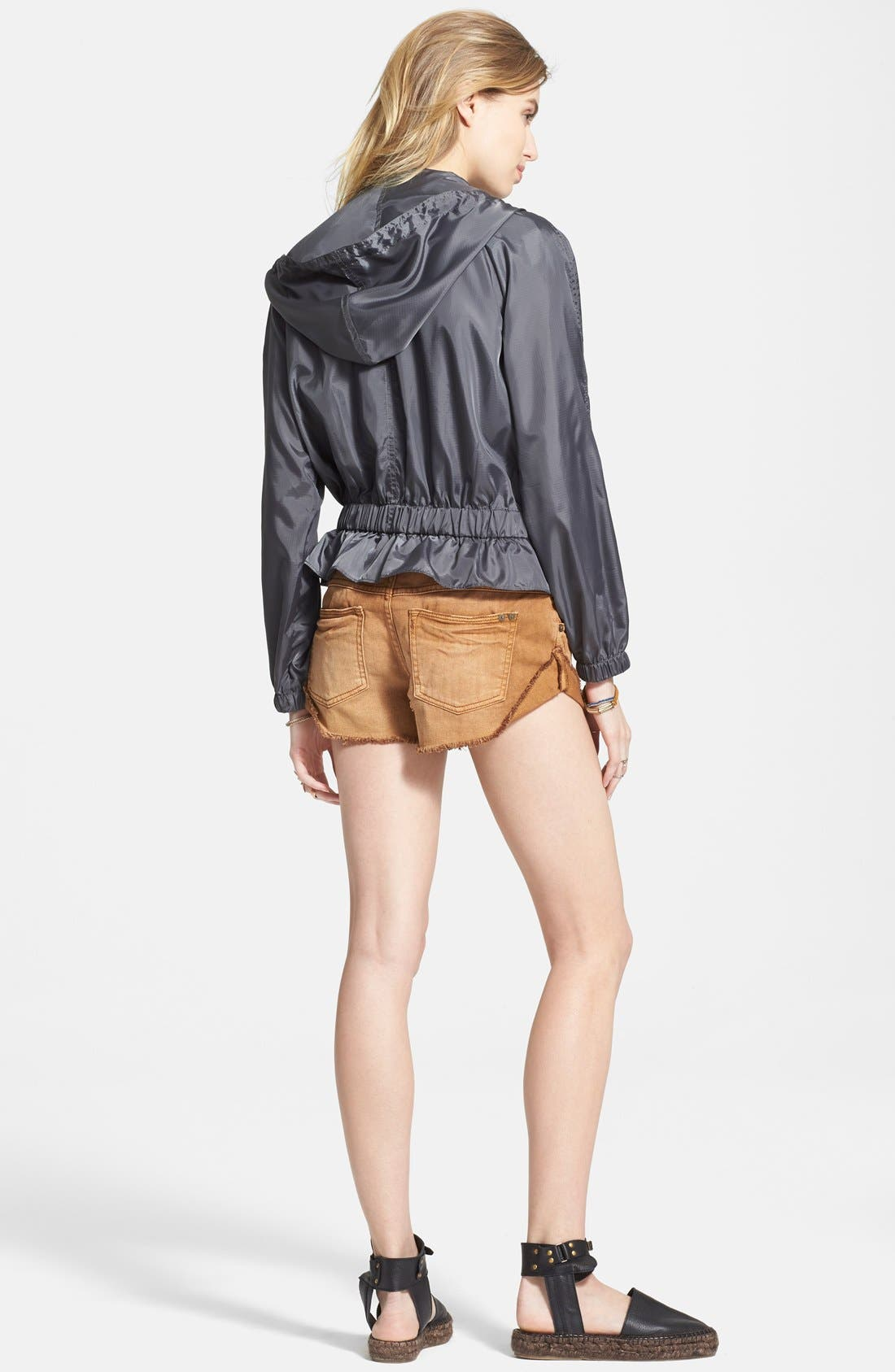 FREE PEOPLE, Ripstop Tech Jacket, Alternate thumbnail 2, color, 020