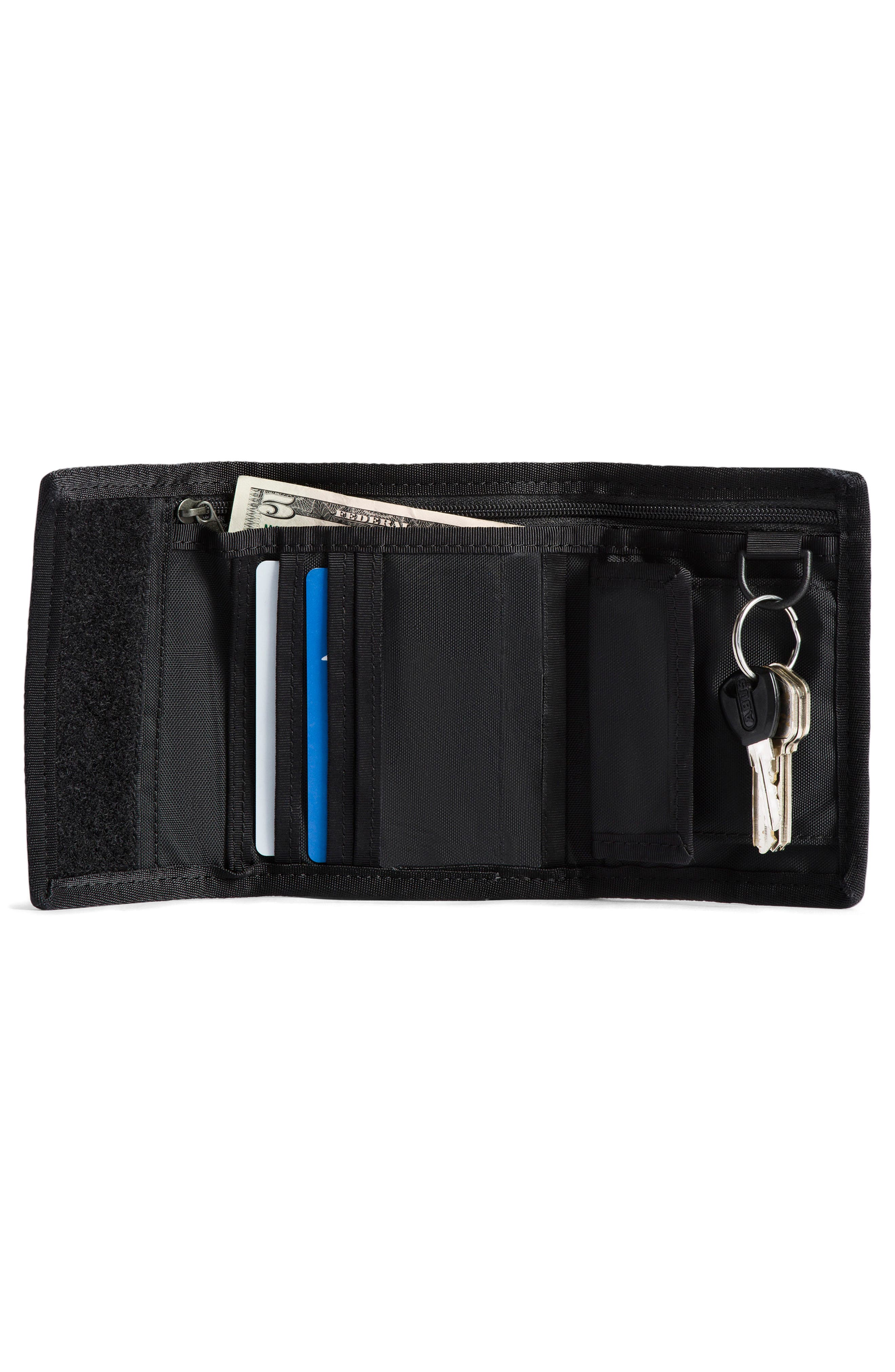 THE NORTH FACE, Base Camp Wallet, Alternate thumbnail 2, color, BOMBER BLU