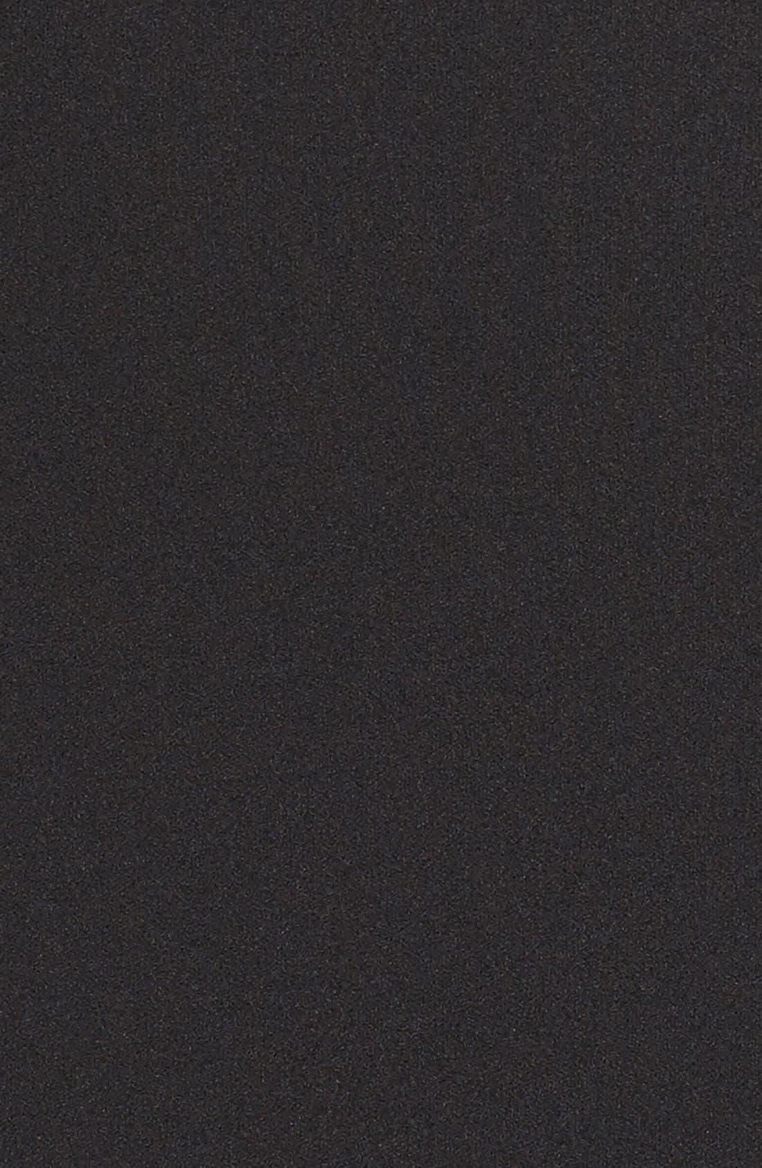 MAGGY LONDON, Asymmetrical Sheath Dress, Alternate thumbnail 7, color, 001