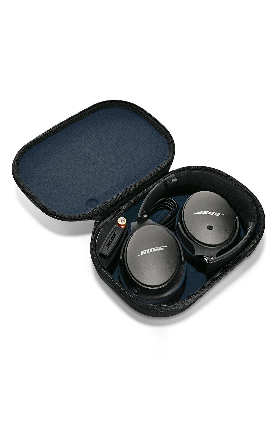 BOSE<SUP>®</SUP>, QuietComfort<sup>®</sup> 25 Acoustic Noise Cancelling<sup>®</sup> iOS Headphones, Alternate thumbnail 5, color, 001