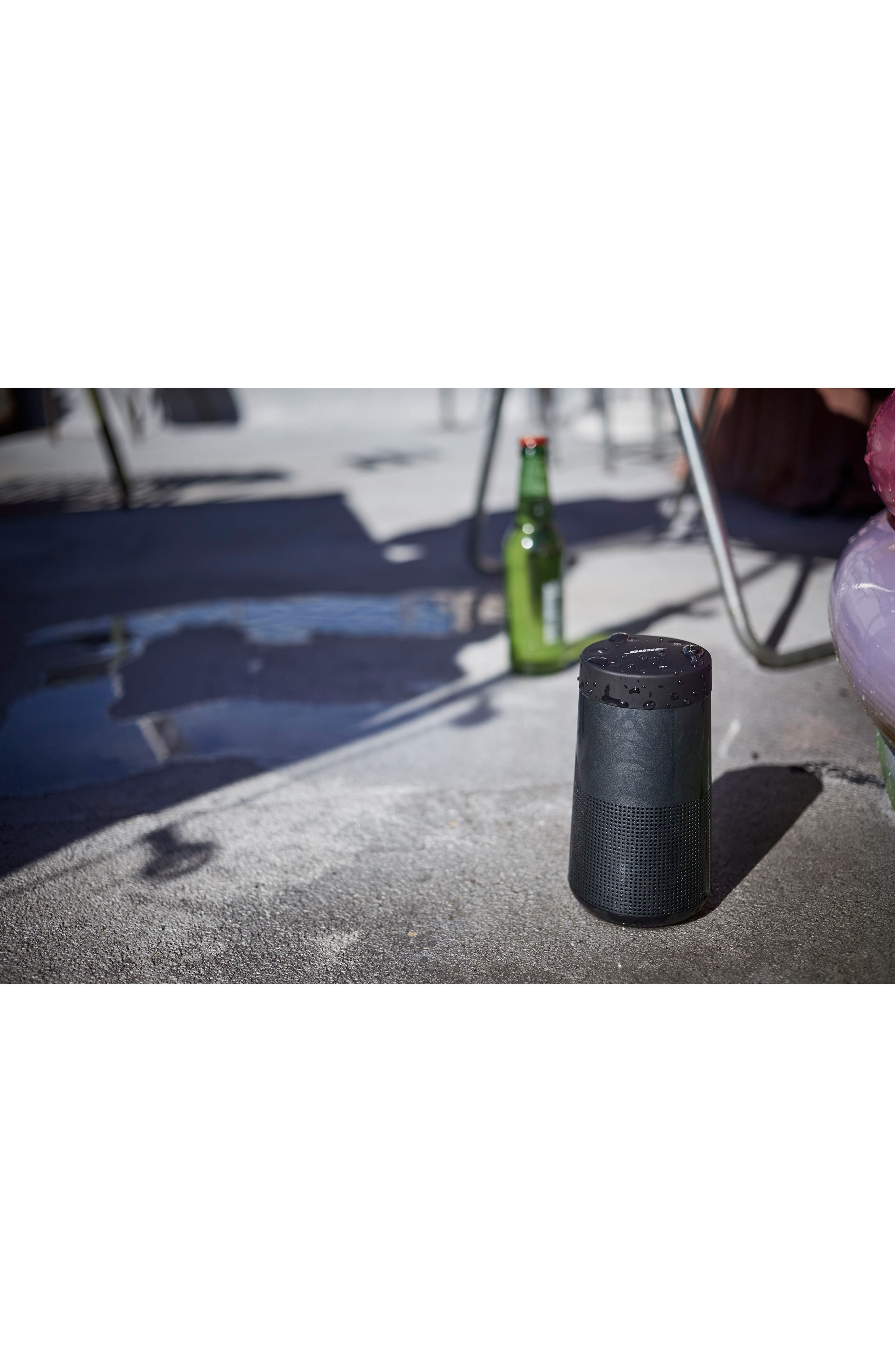 BOSE<SUP>®</SUP>, SoundLink<sup>®</sup> Revolve Bluetooth<sup>®</sup> Speaker, Alternate thumbnail 11, color, BLACK