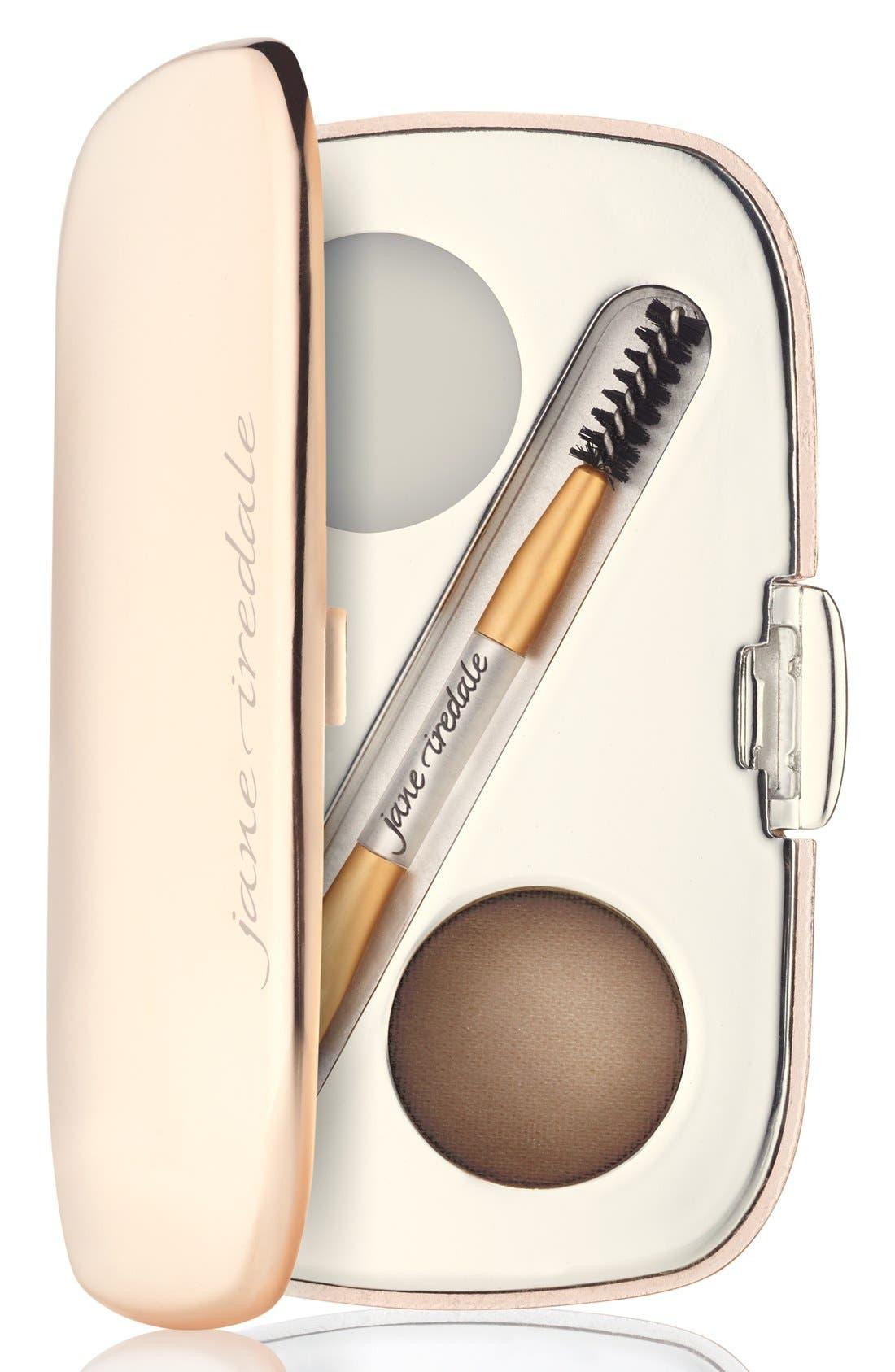 JANE IREDALE GreatShape Eyebrow Kit, Main, color, BRUNETTE