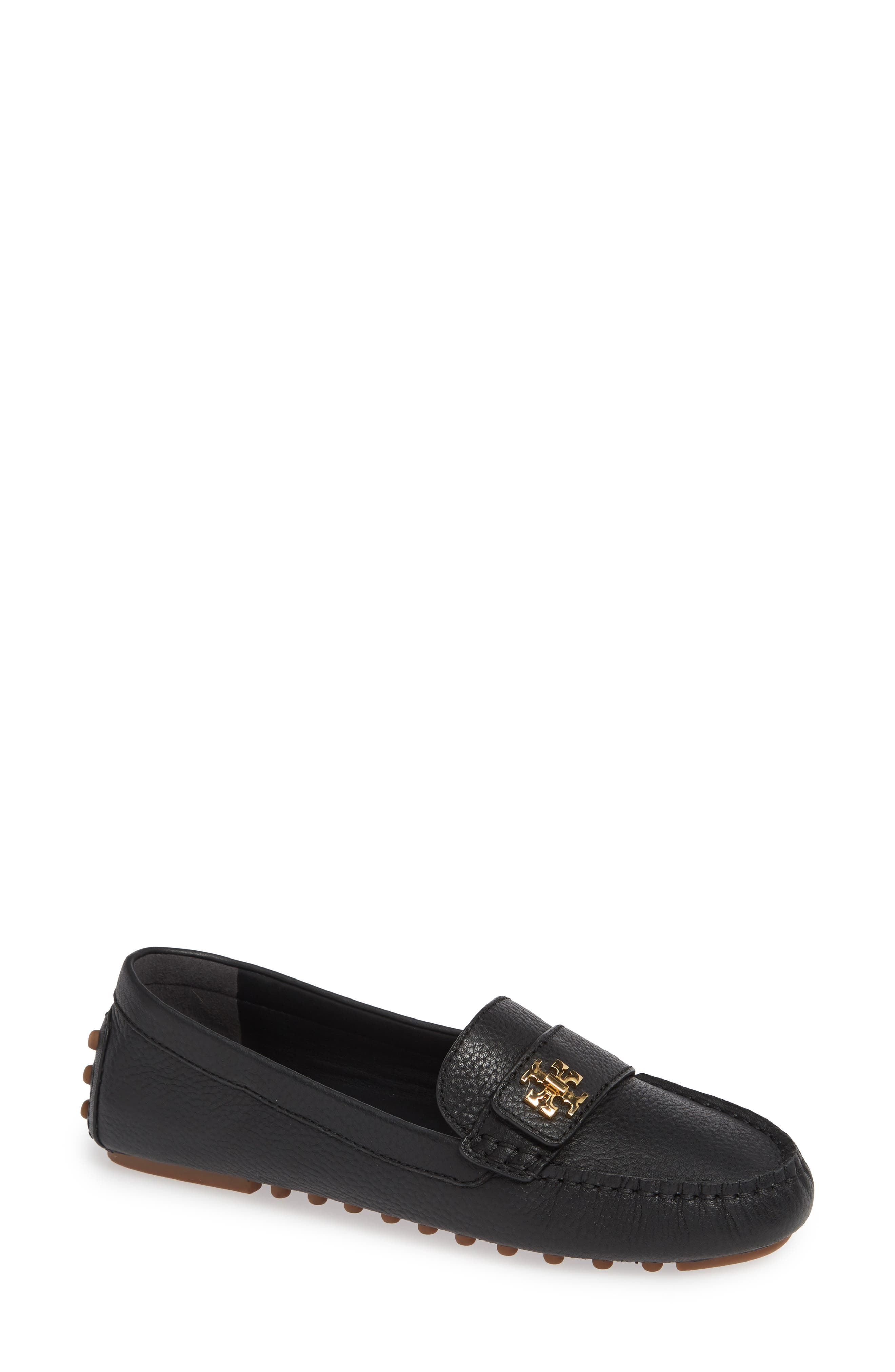 TORY BURCH, Kira Driving Loafer, Main thumbnail 1, color, PERFECT BLACK