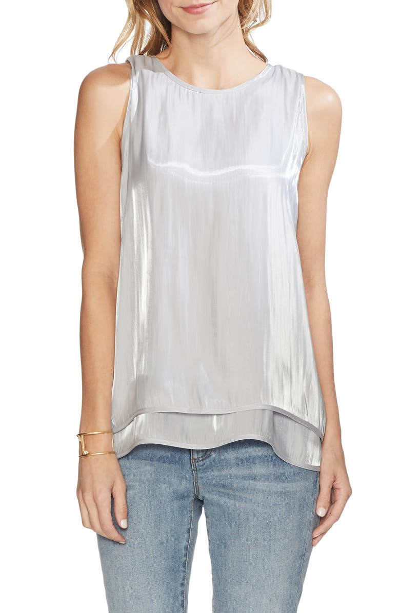 Vince Camuto Tops IRIDESCENT TANK