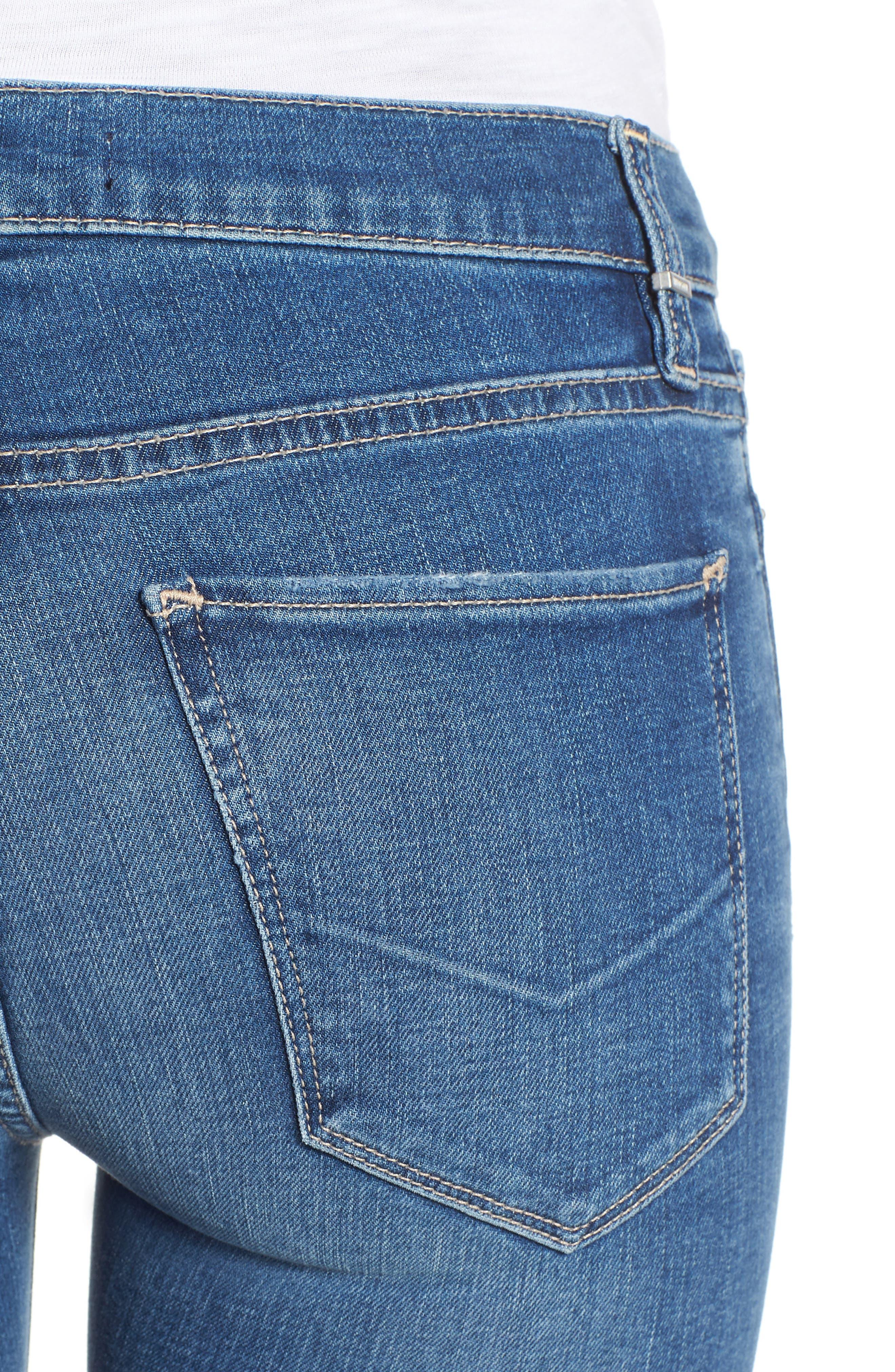 HUDSON JEANS, Drew Bootcut Jeans, Alternate thumbnail 5, color, AYON
