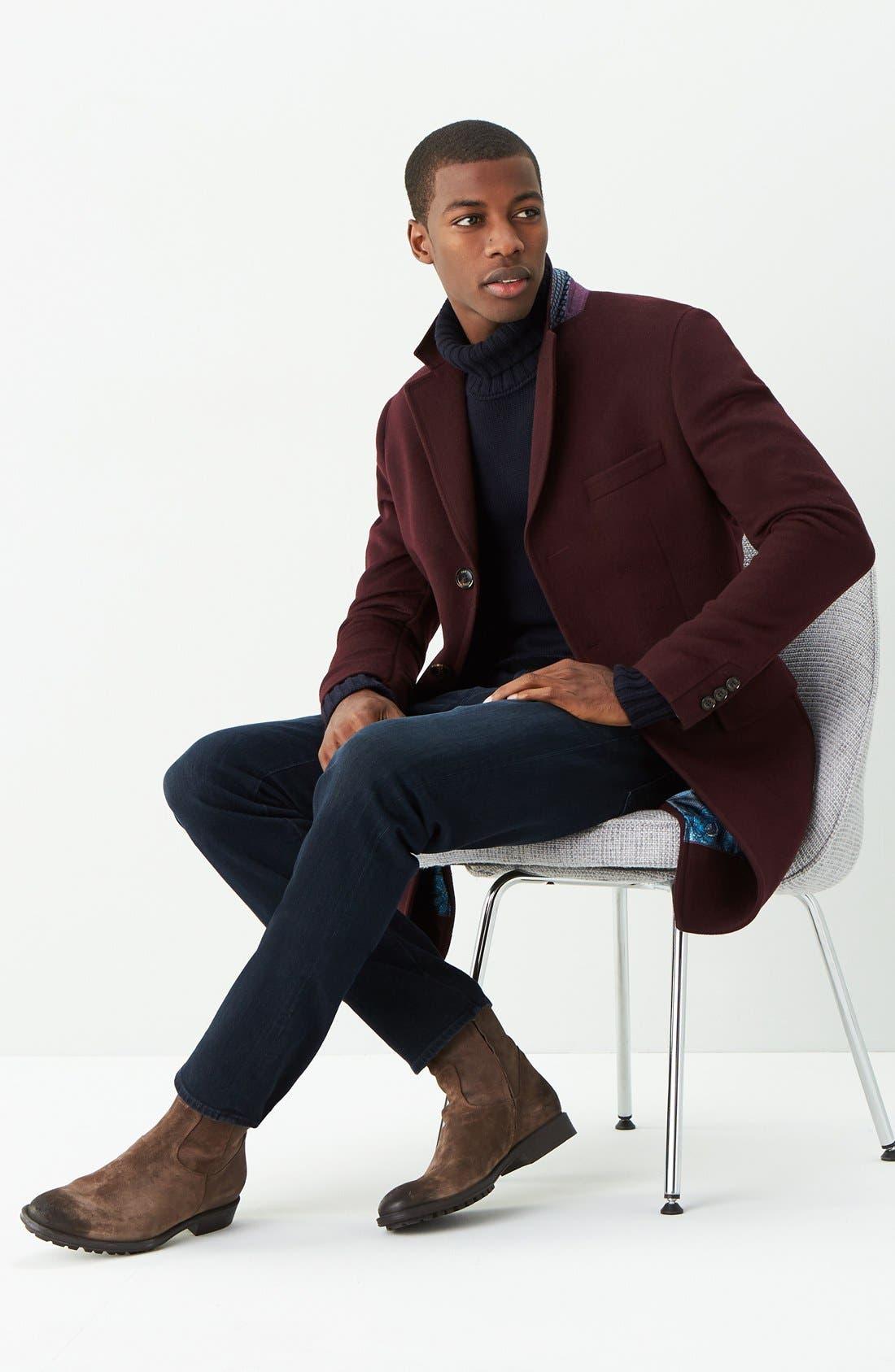 AG, Graduate Slim Straight Leg Jeans, Alternate thumbnail 4, color, BUNDLED