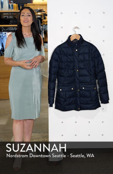 Goldfinch Quilted Jacket, sales video thumbnail