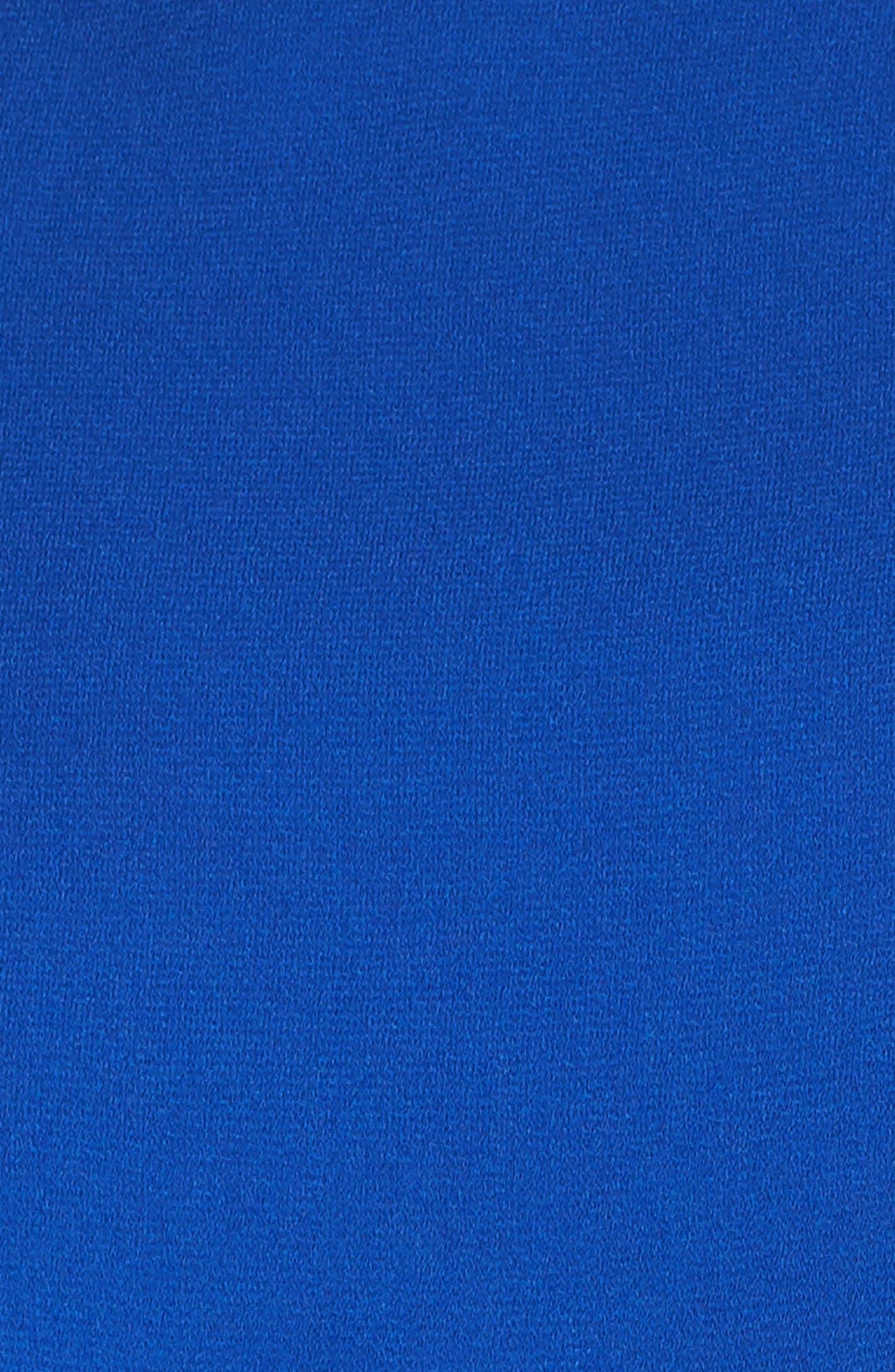 VINCE CAMUTO, Moss Crepe Wide Leg Crop Jumpsuit, Alternate thumbnail 6, color, ROYAL