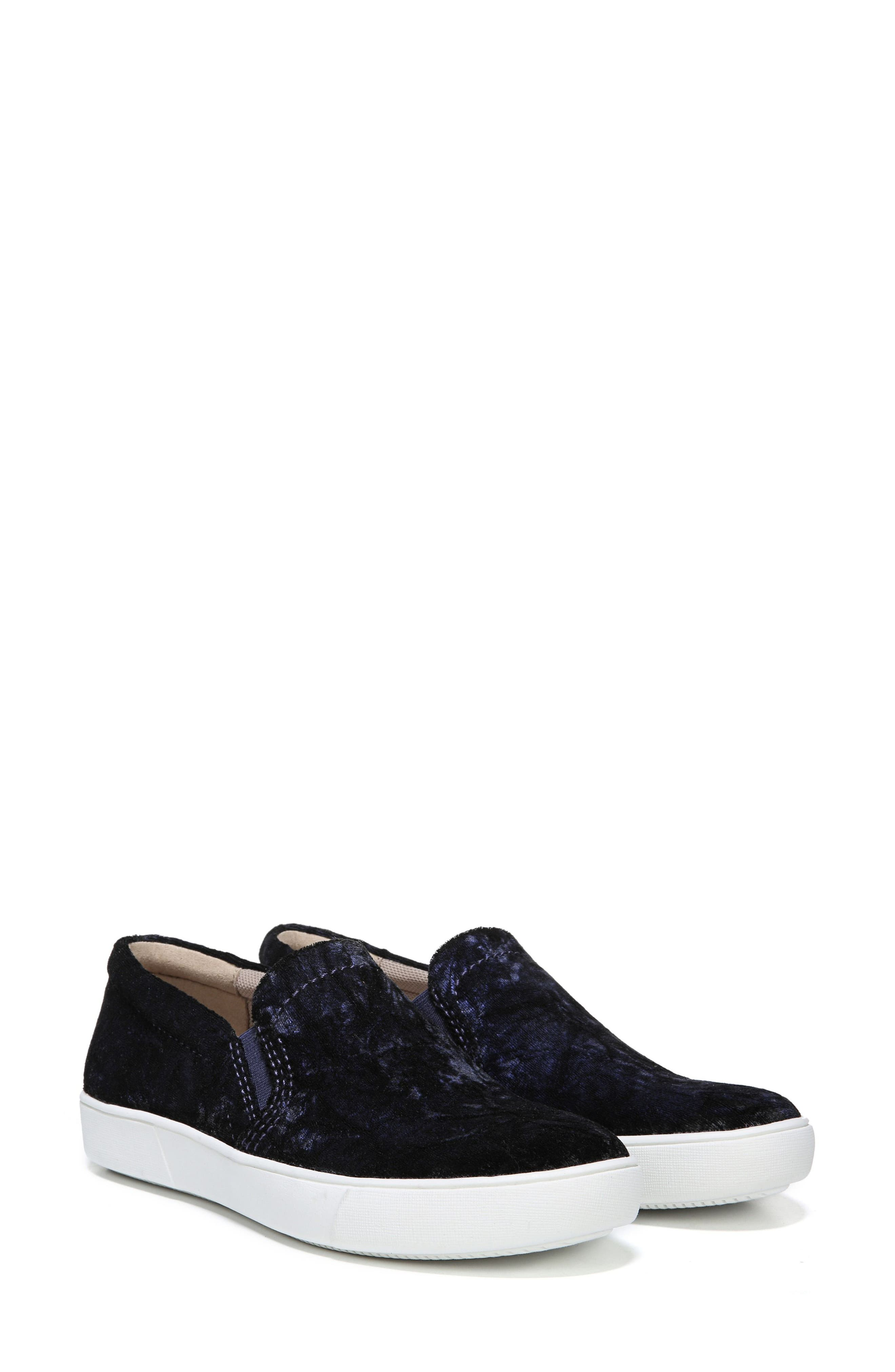 NATURALIZER, Marianne Slip-On Sneaker, Alternate thumbnail 6, color, NAVY VELVET