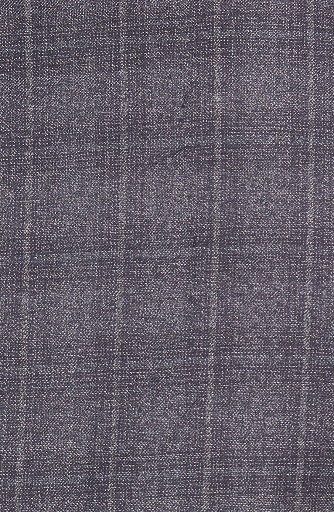 ZZDNUHUGO BOSS, BOSS 'Jayden' Trim Fit Plaid Wool Sport Coat, Alternate thumbnail 3, color, 420