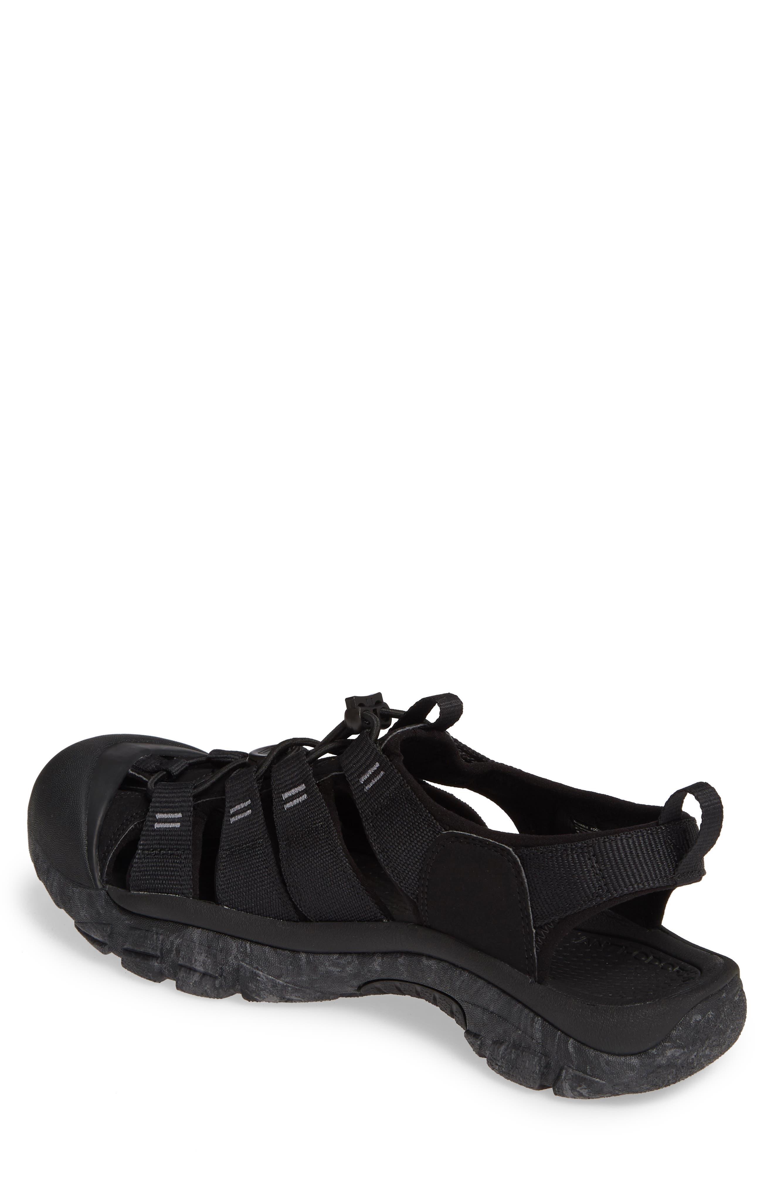KEEN, 'Newport H2' Sandal, Alternate thumbnail 2, color, BLACK/ SWIRL OUTSOLE