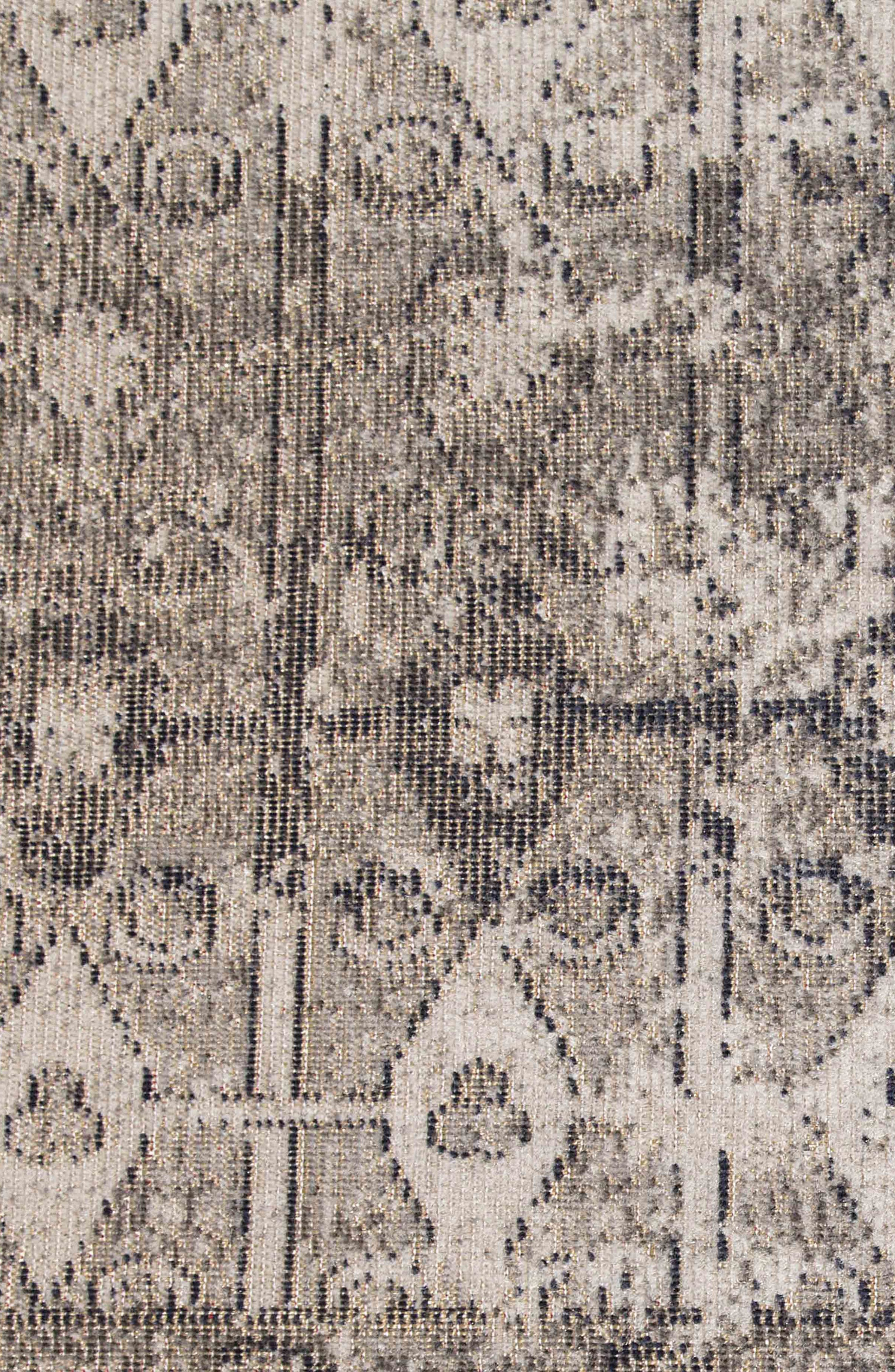JAIPUR, Monica Rug, Alternate thumbnail 4, color, TAUPE BLACK