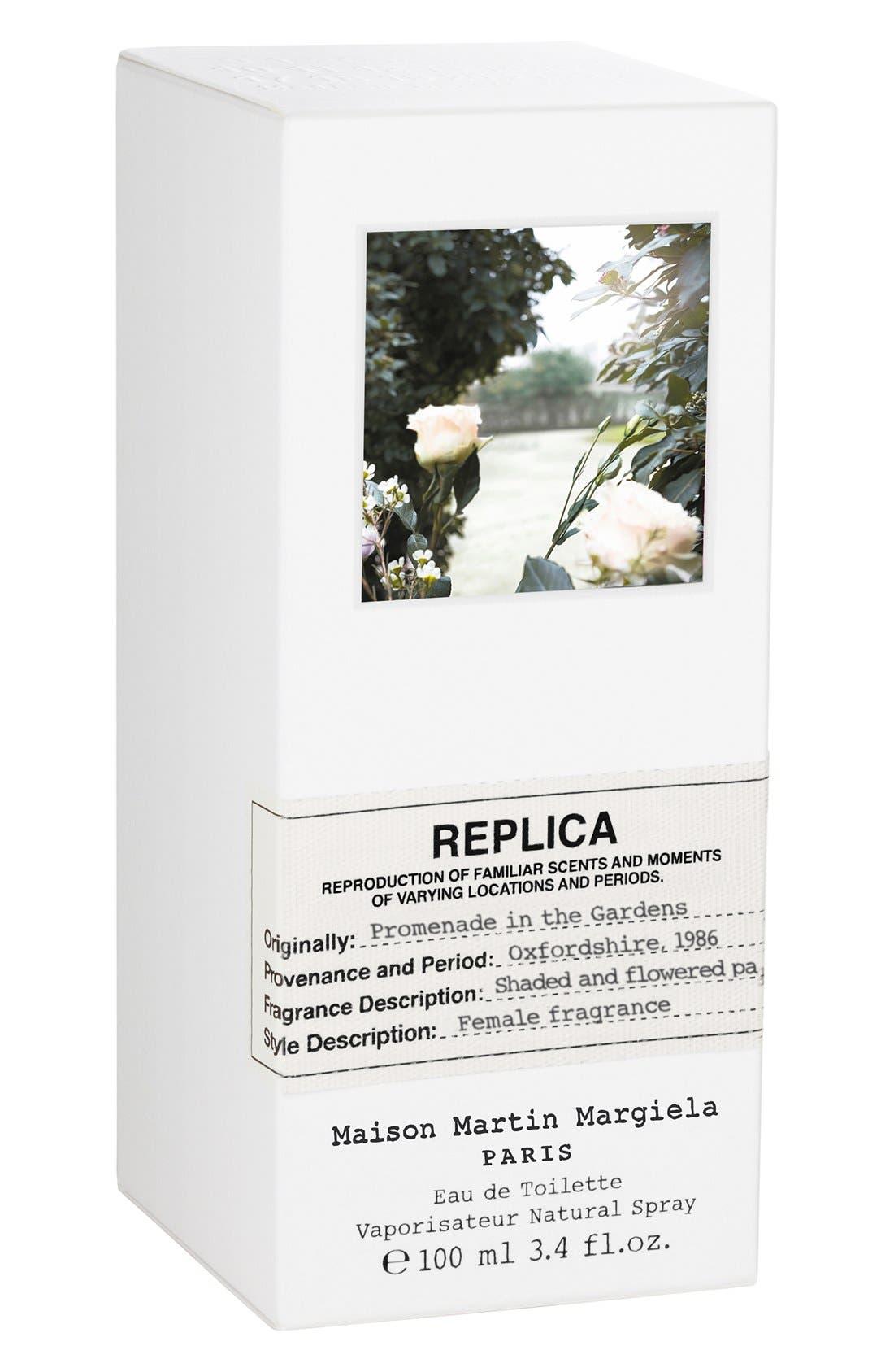 MAISON MARGIELA, Replica Promenade in the Gardens Fragrance, Alternate thumbnail 3, color, 000
