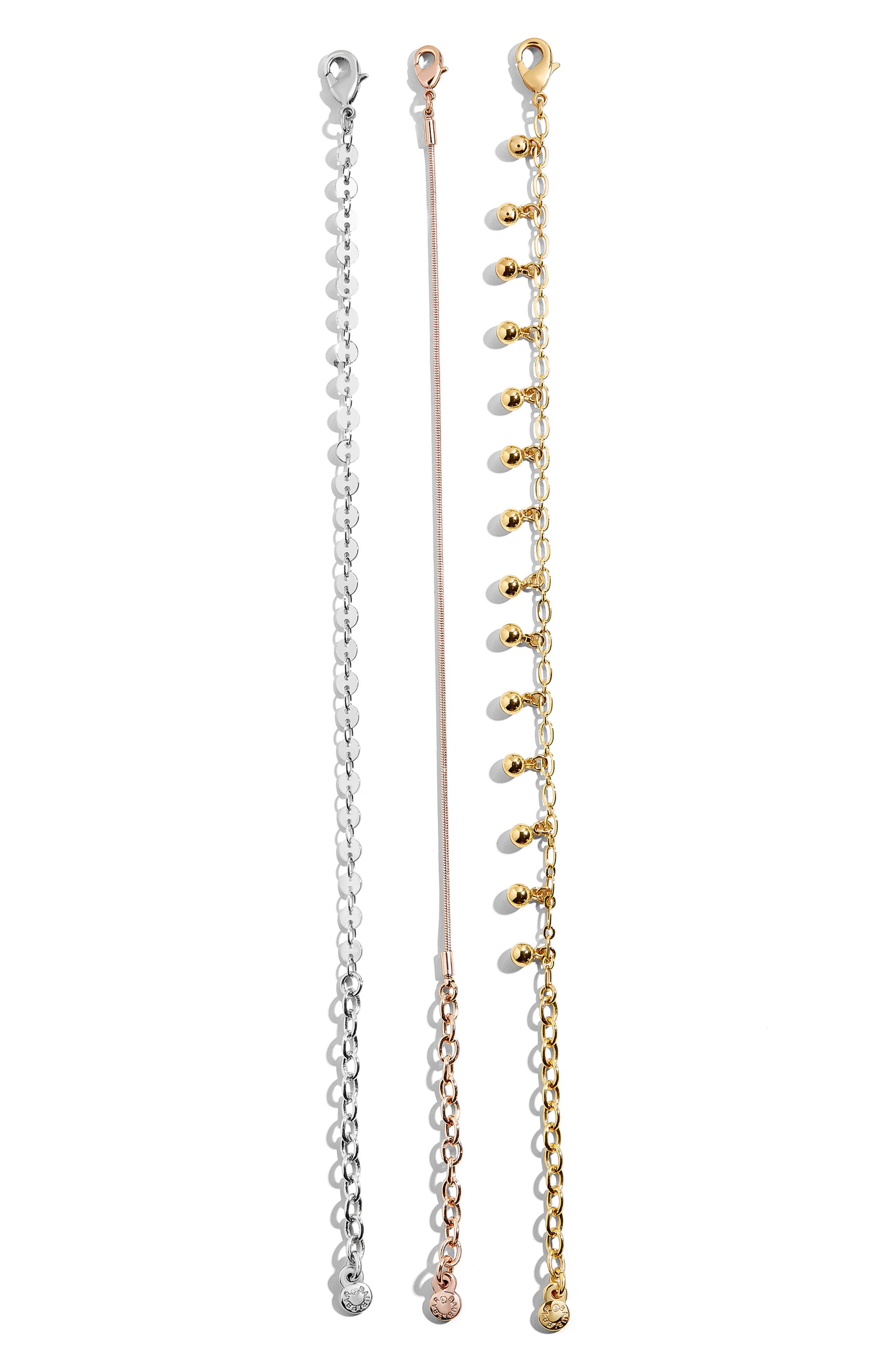 BAUBLEBAR Asteria Set of 3 Bracelets, Main, color, MULTI