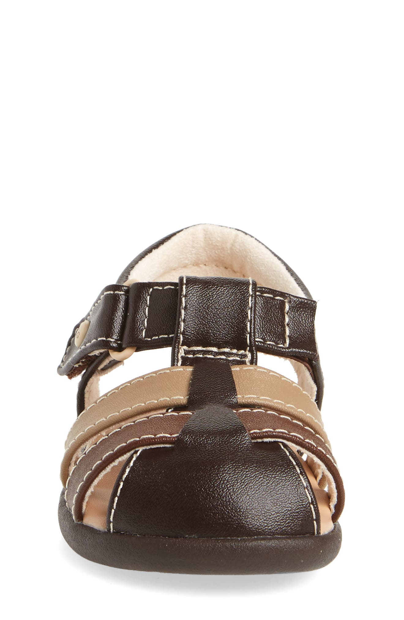 UGG<SUP>®</SUP>, Kolding Sandal, Alternate thumbnail 4, color, STOUT