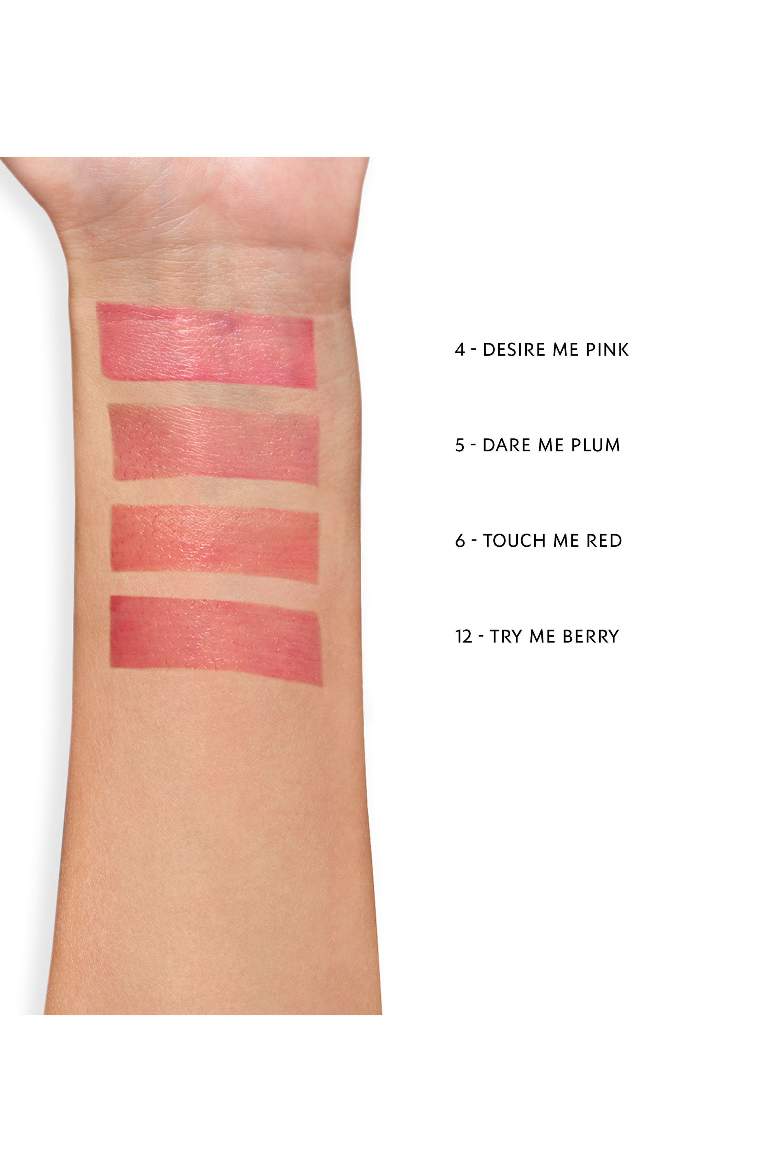 YVES SAINT LAURENT, Volupté Tint-in-Balm, Alternate thumbnail 3, color, 06 TOUCH ME RED