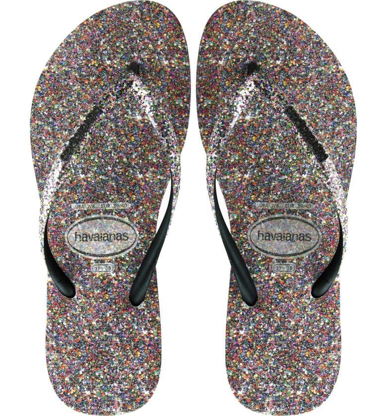 a5416752b713 Havaianas Slim Glitter Flip Flop (Women)