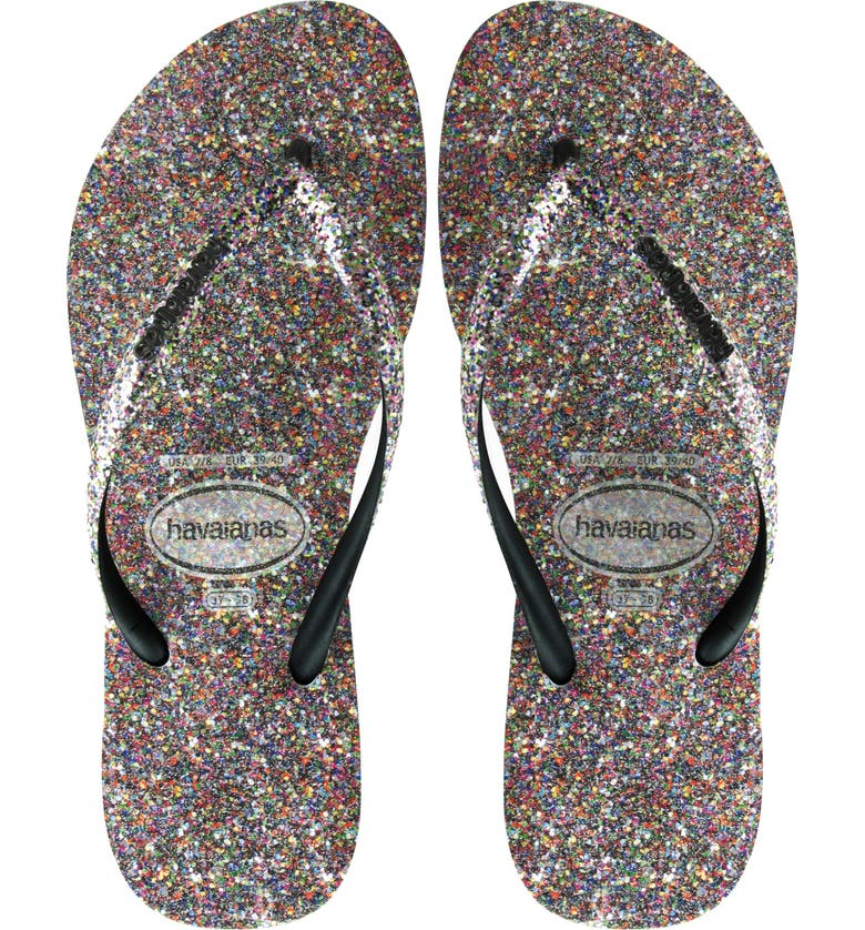 81664784c22 Havaianas Slim Glitter Flip Flop (Women)