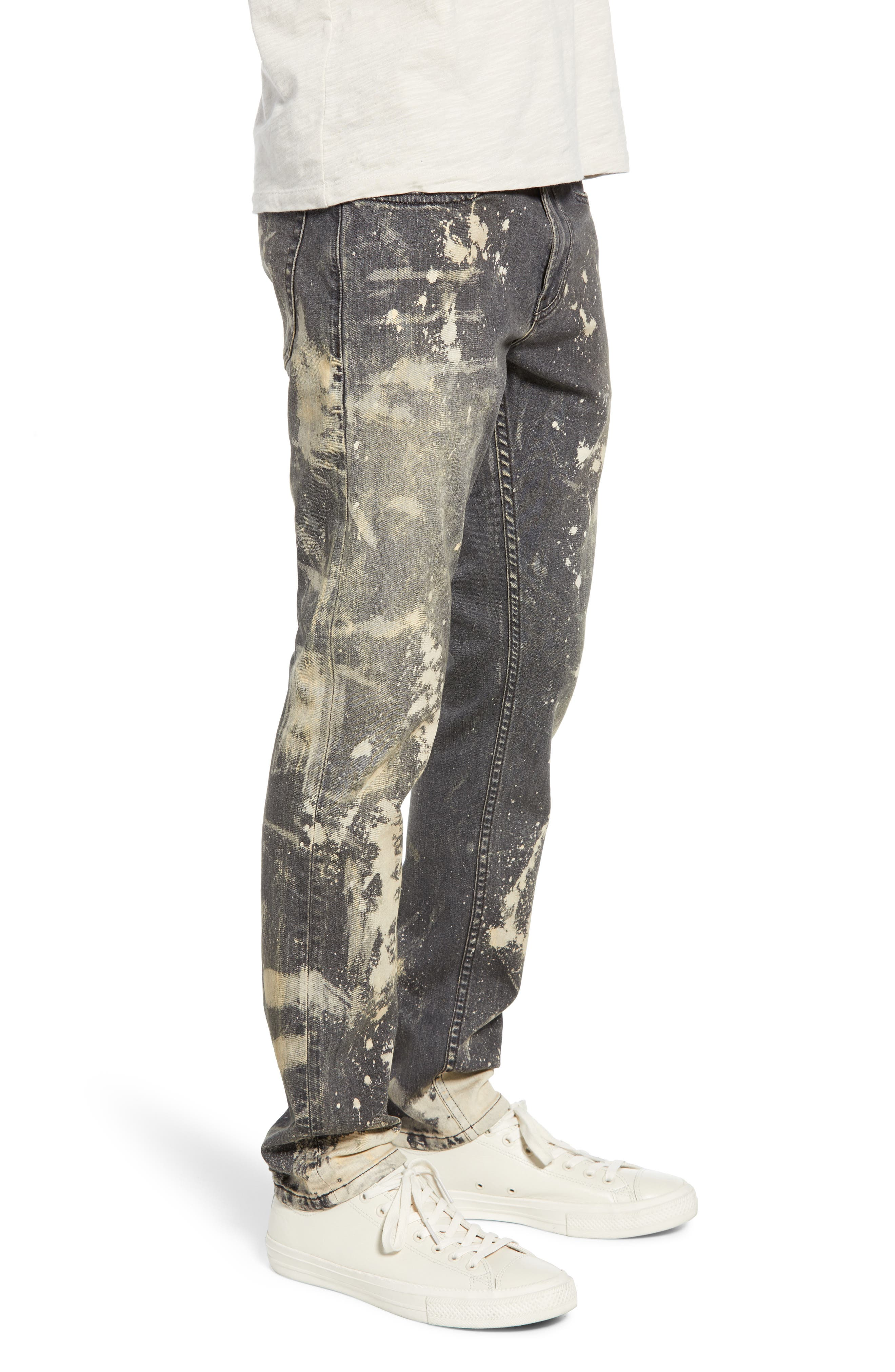 BLANKNYC, Horatio Skinny Fit Jeans, Alternate thumbnail 4, color, GOOD TIMES BAD TIMES