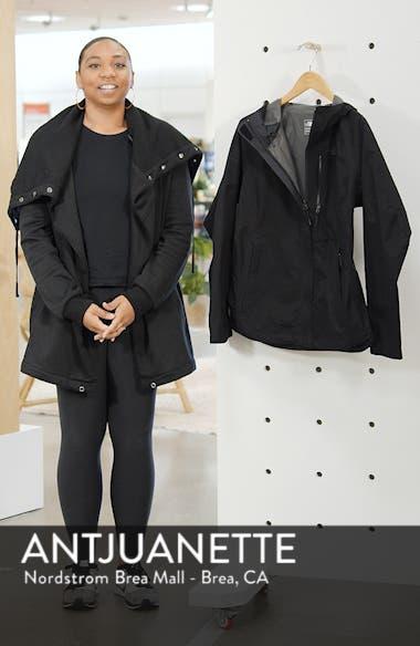 Dryzzle Hooded Rain Jacket, sales video thumbnail