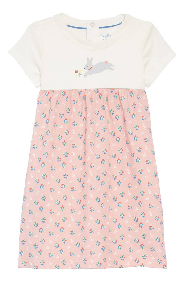 54dec6acc98 Mini Boden Bunny & Blossoms Jersey Dress (Toddler) | Nordstrom