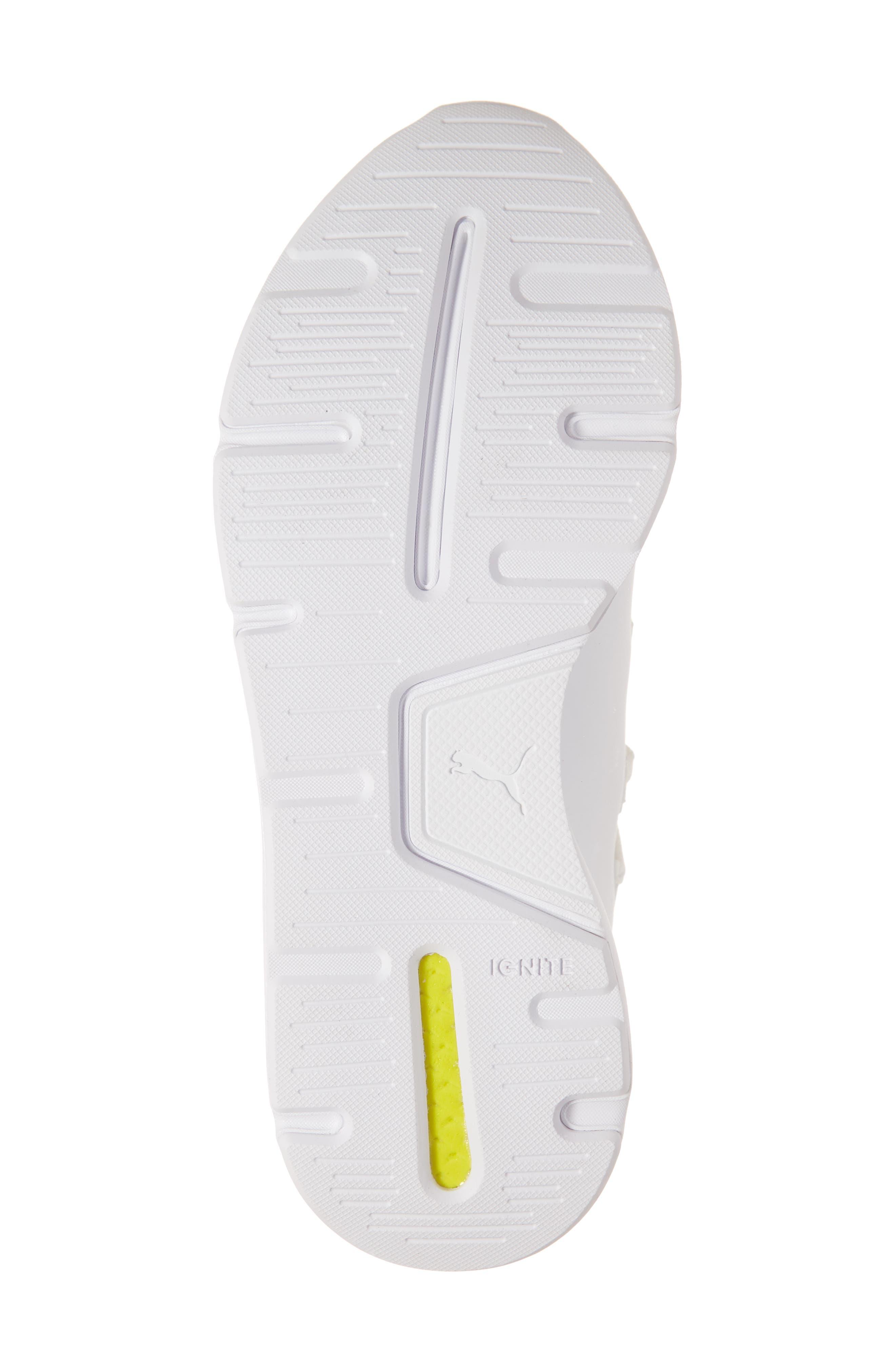 PUMA, Muse 2 Trailblazer Sneaker, Alternate thumbnail 6, color, WHITE/ SILVER