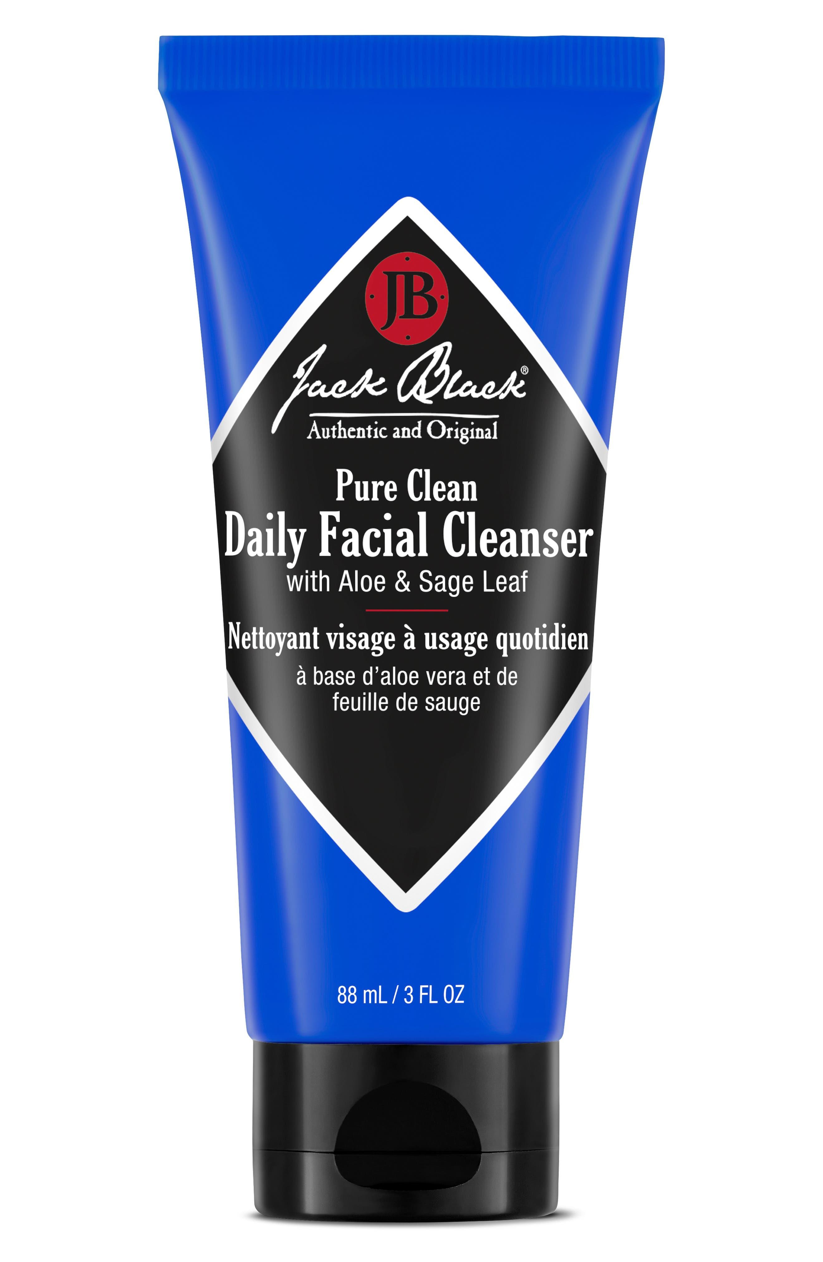 JACK BLACK, Pure Clean Daily Facial Cleanser, Alternate thumbnail 2, color, NO COLOR