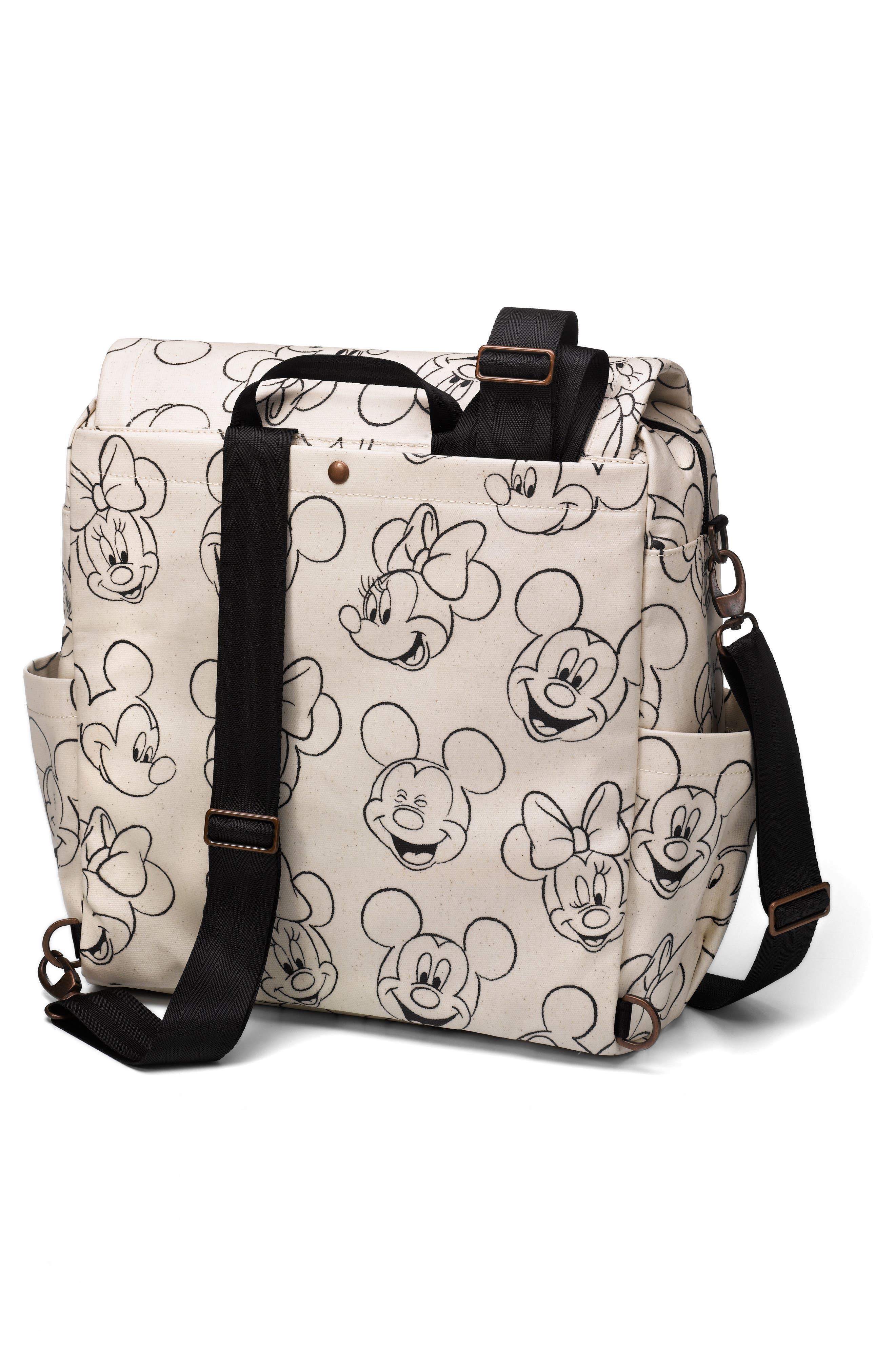 PETUNIA PICKLE BOTTOM, Boxy Backpack - Disney Diaper Bag, Alternate thumbnail 2, color, SKETCHBOOK MICKEY AND MINNIE