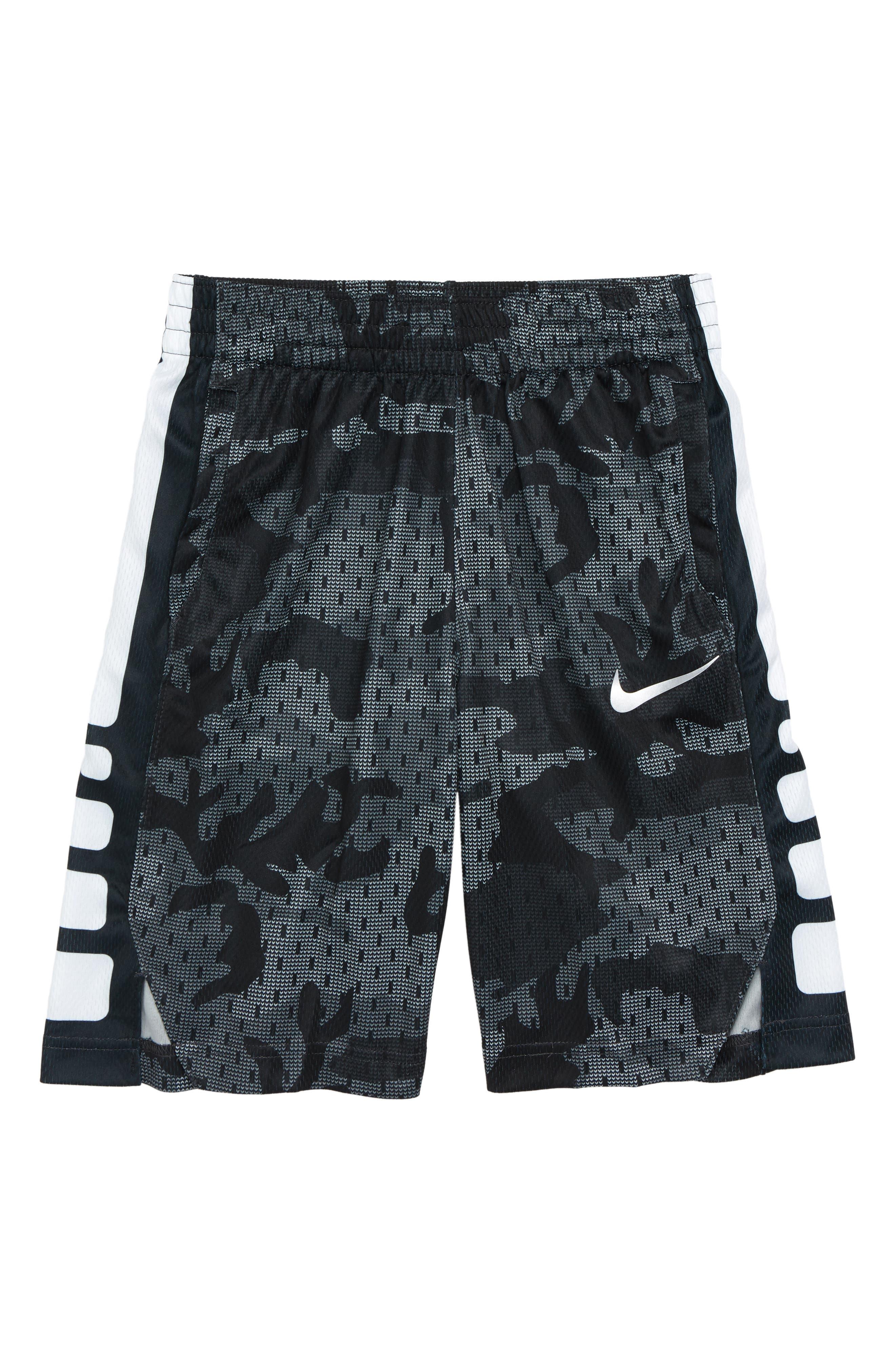 NIKE, Dry Elite Basketball Shorts, Main thumbnail 1, color, 020