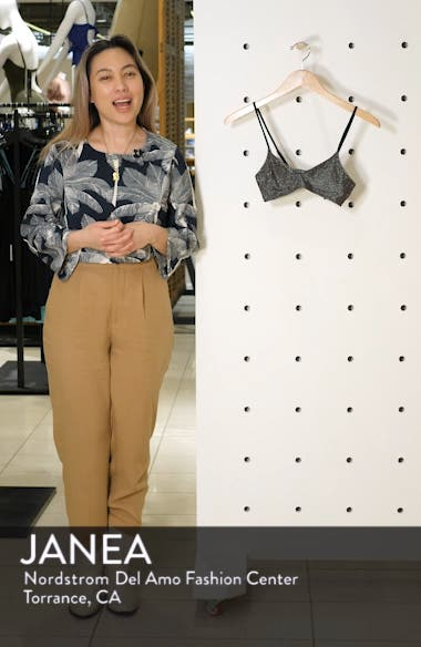 Metallic Crop Bikini Top, sales video thumbnail