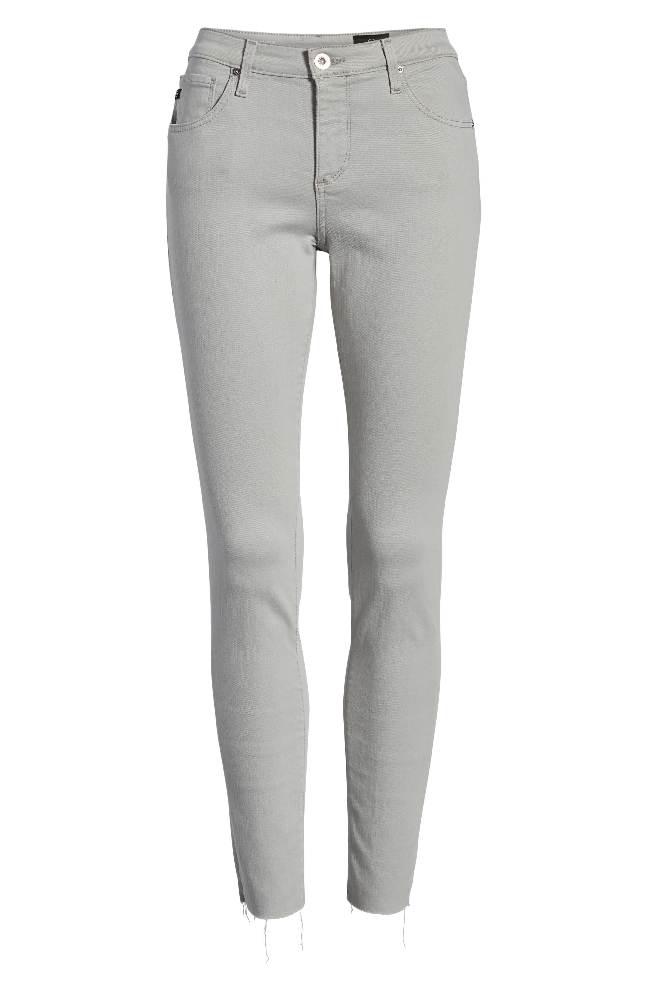 AG, The Legging Ankle Super Skinny Jeans, Alternate thumbnail 7, color, MISTY MIRROR