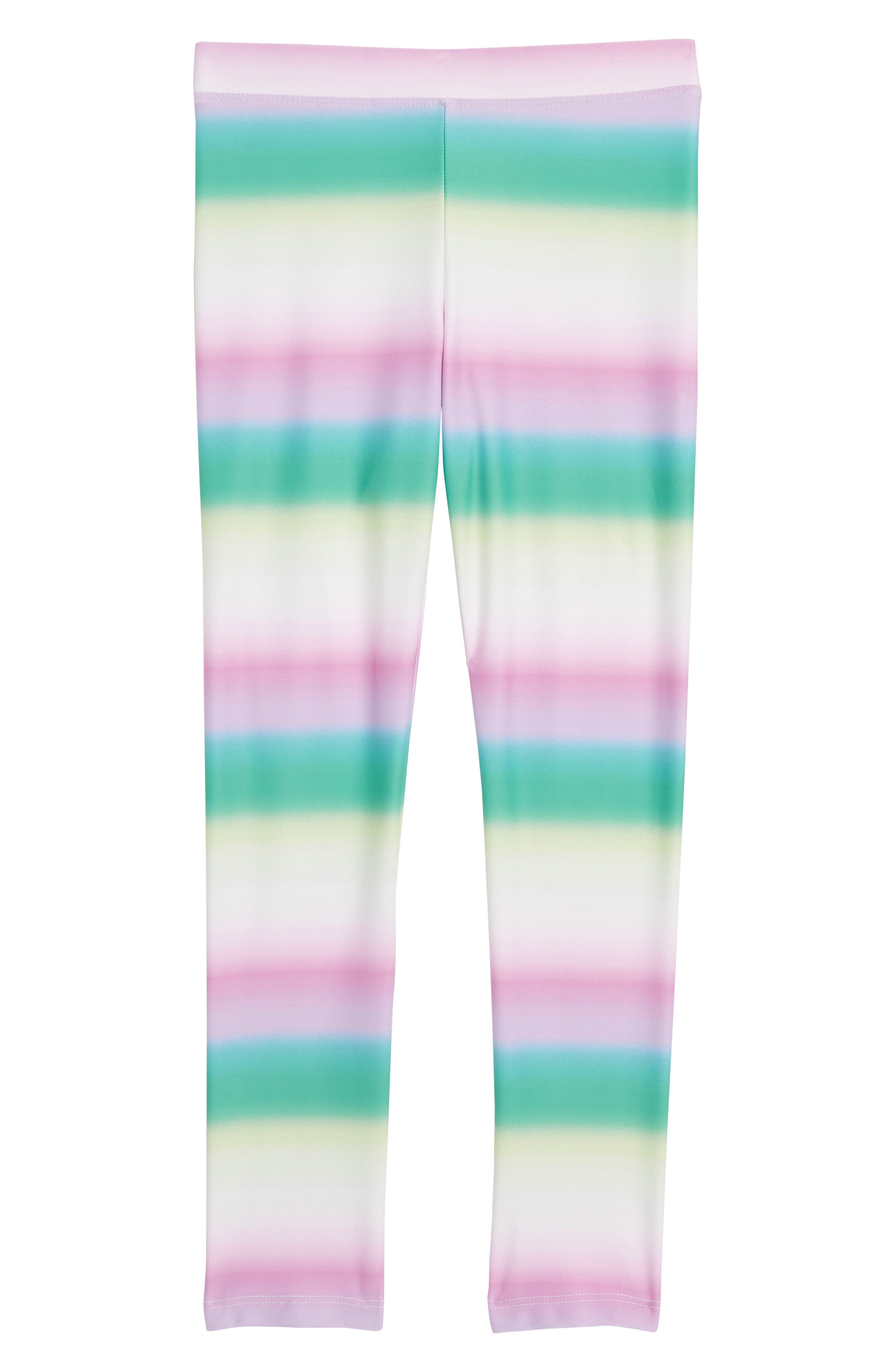 Toddler Girls Crewcuts By Jcrew Ombre Stripe Everyday Leggings Size 3T  Pink