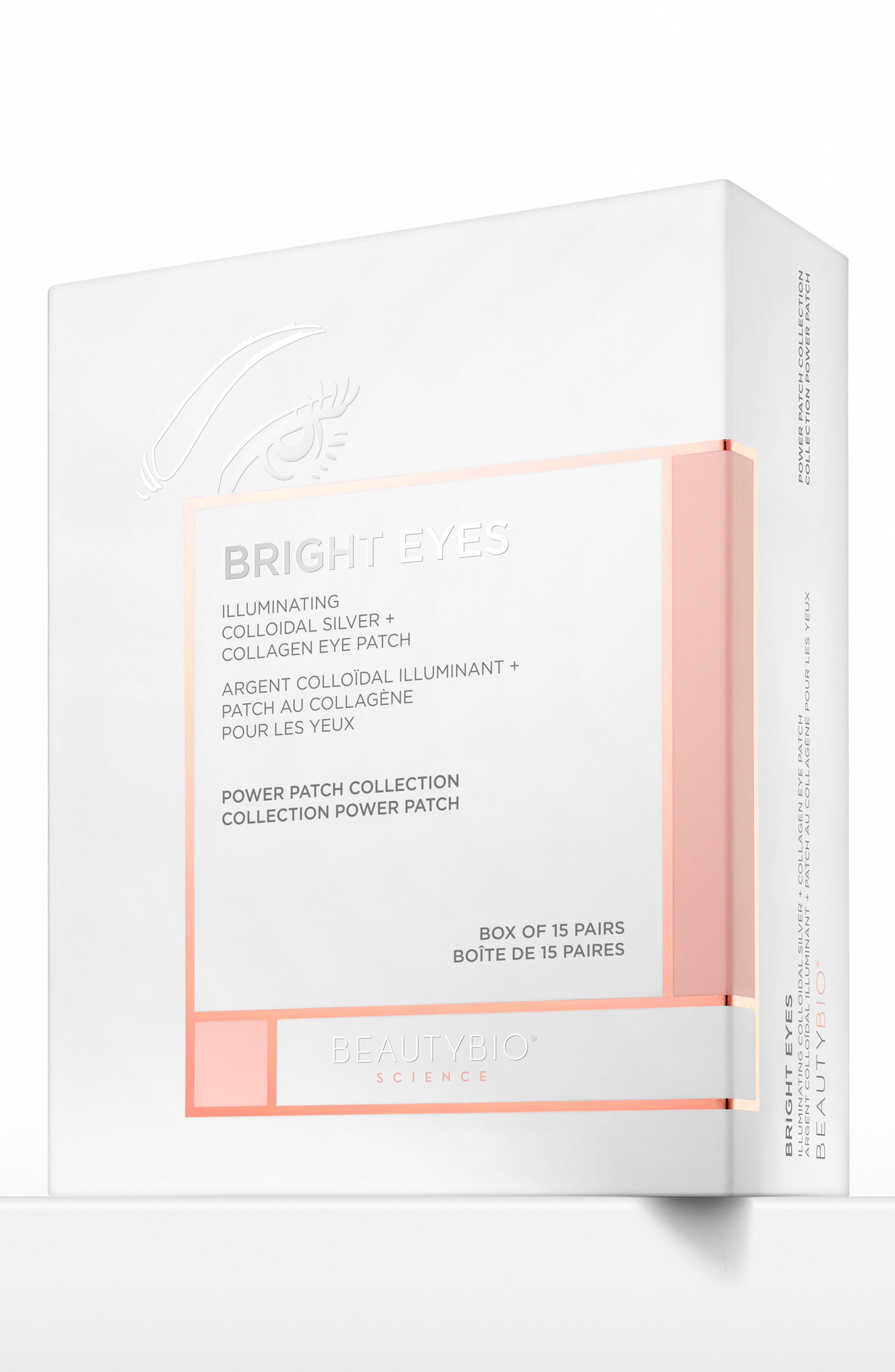 BEAUTYBIO, Bright Eyes Illuminating Colloidal Silver + Collagen Eye Patch, Alternate thumbnail 6, color, NO COLOR