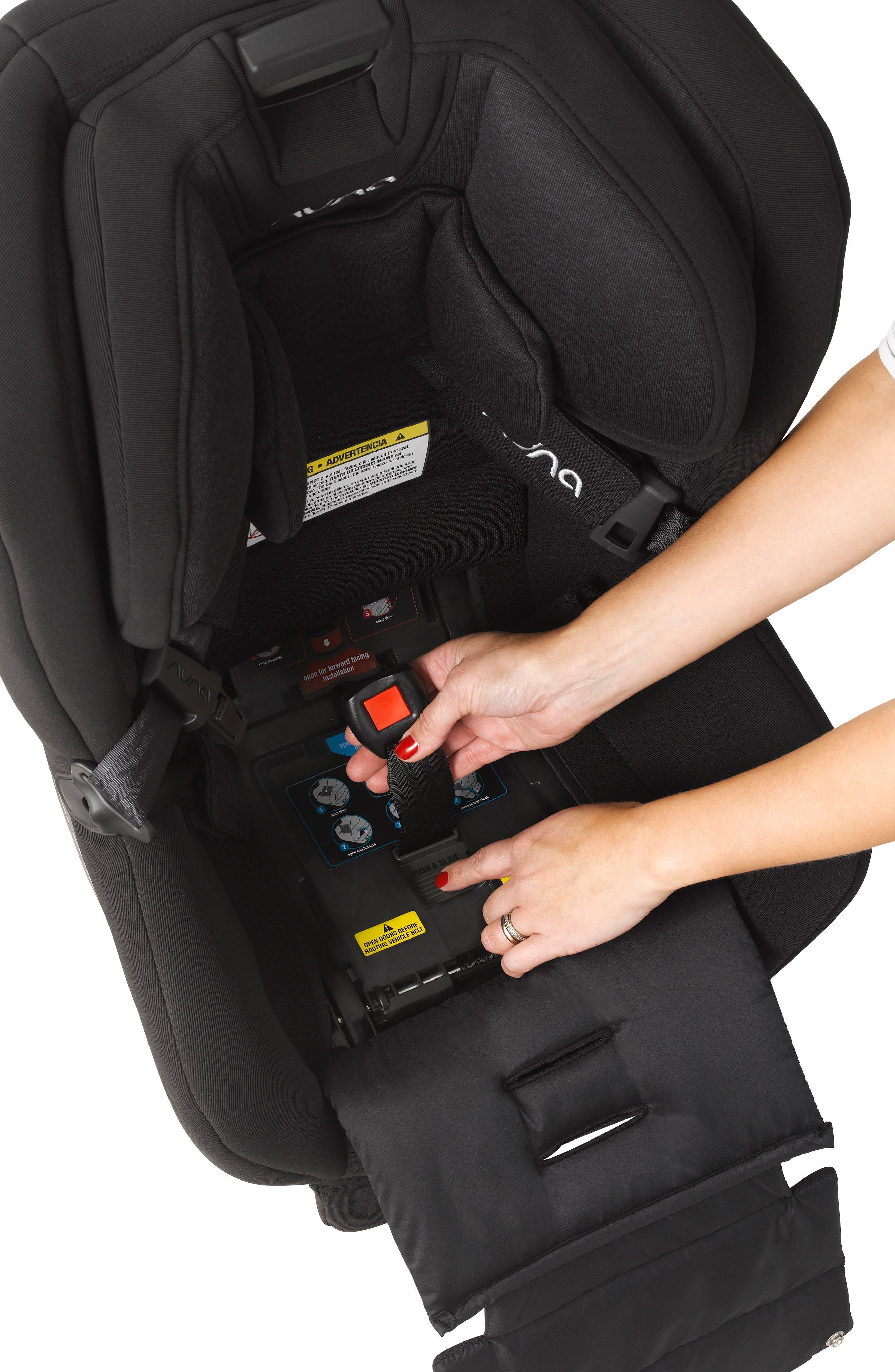 NUNA, RAVA<sup>™</sup> Convertible Car Seat, Alternate thumbnail 7, color, VERONA CAVIAR