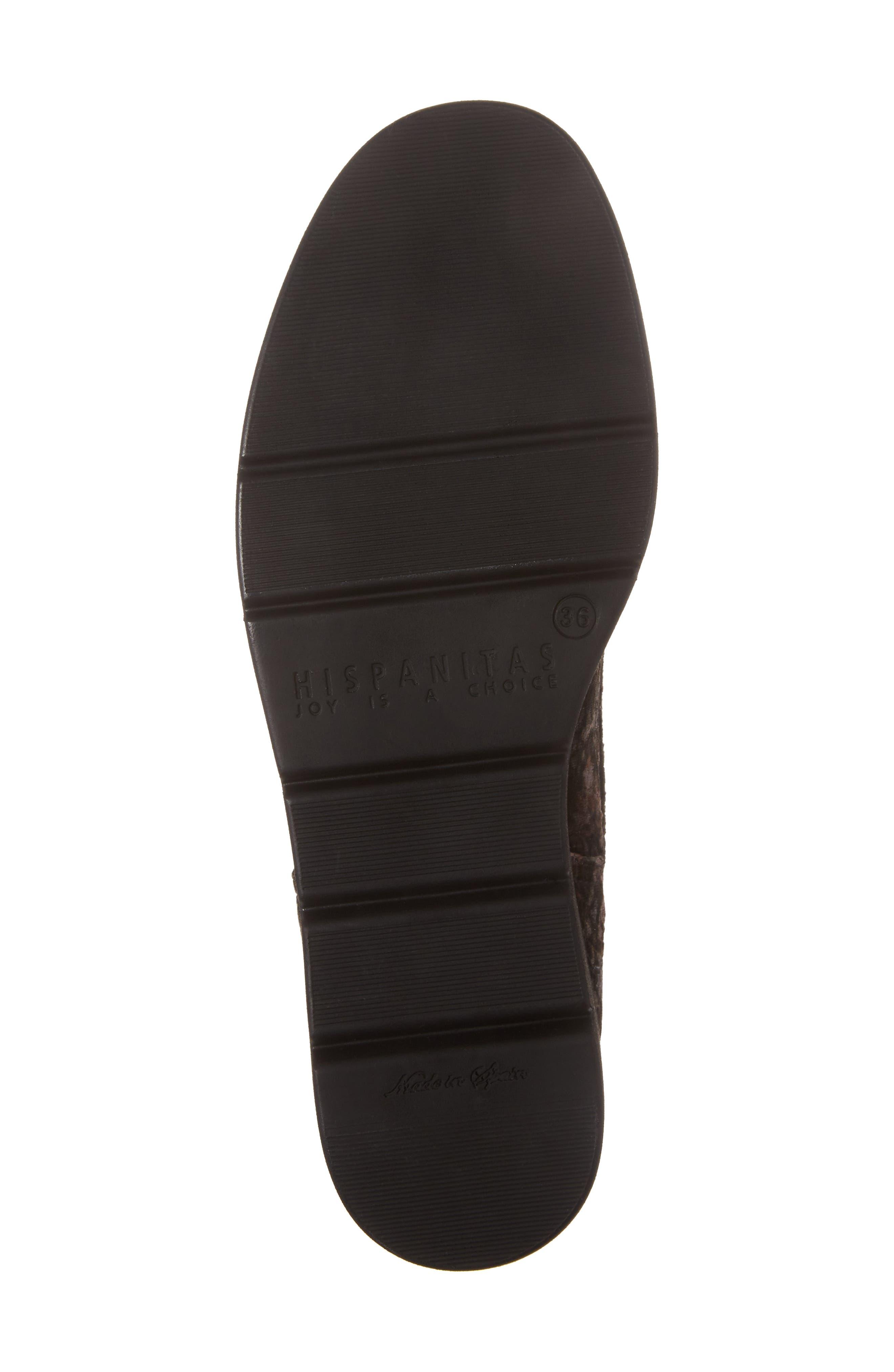HISPANITAS, Richelle Oxford Sneaker, Alternate thumbnail 6, color, GREY FABRIC