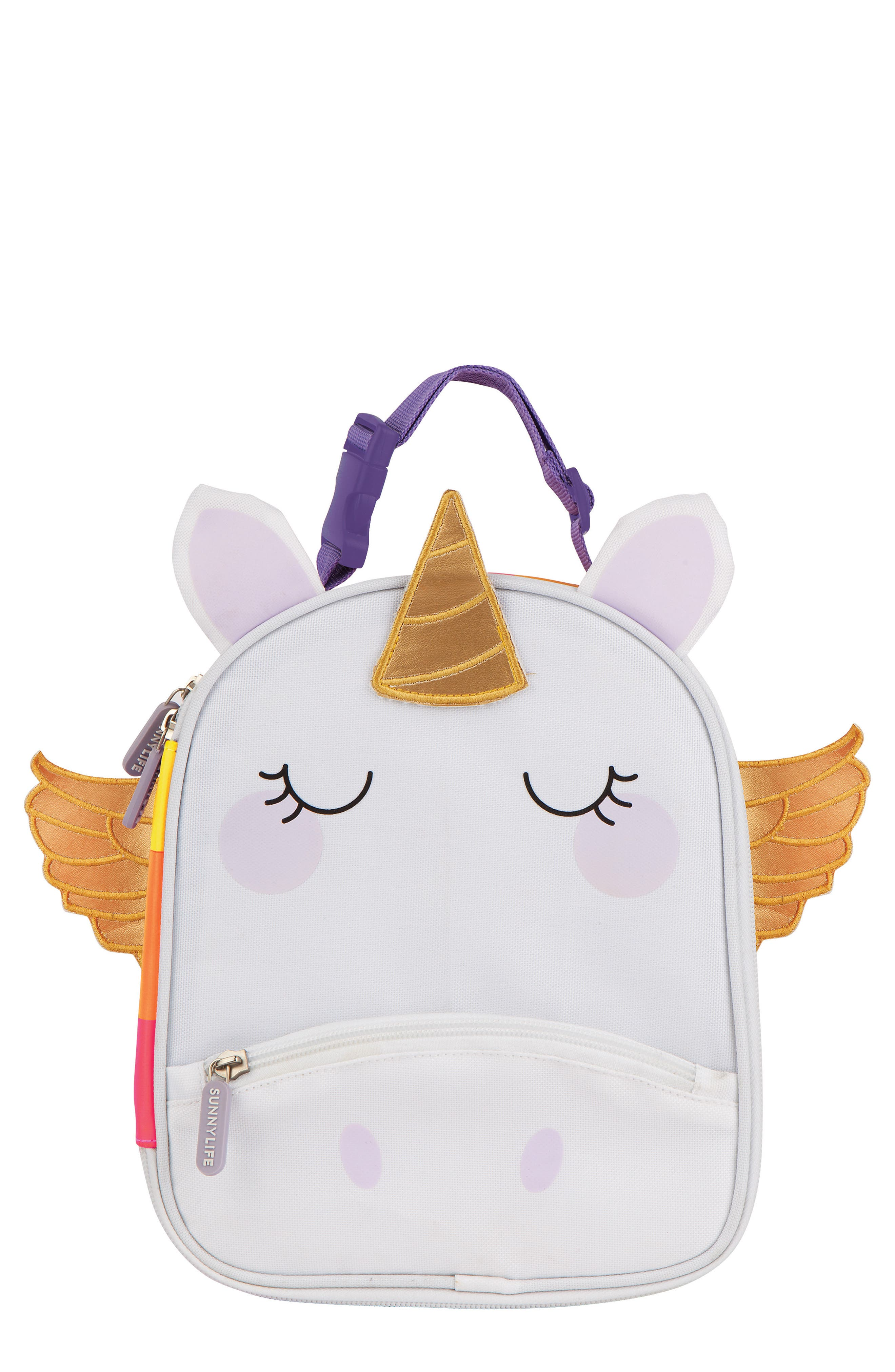 Girls Sunnylife Unicorn Lunch Bag  None