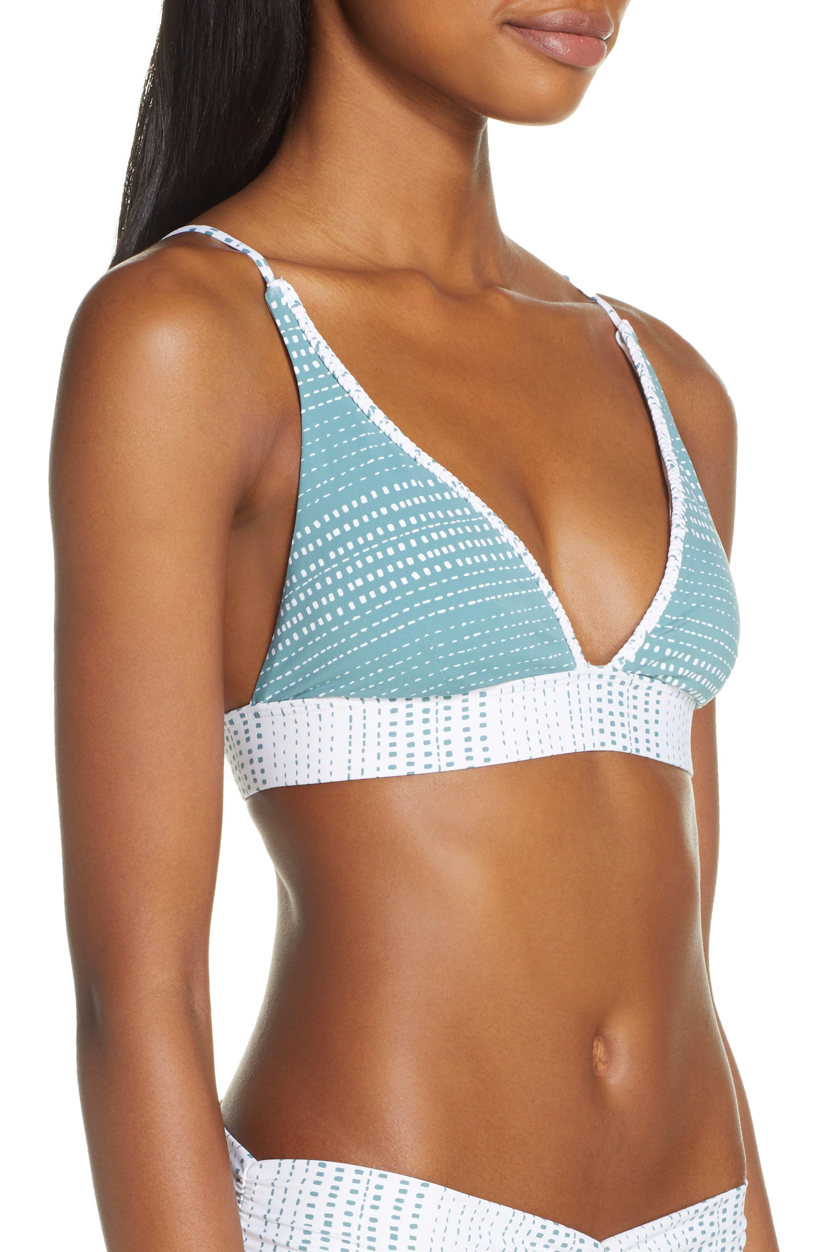 DOLCE VITA, Mojave Bikini Top, Alternate thumbnail 4, color, AGAVE