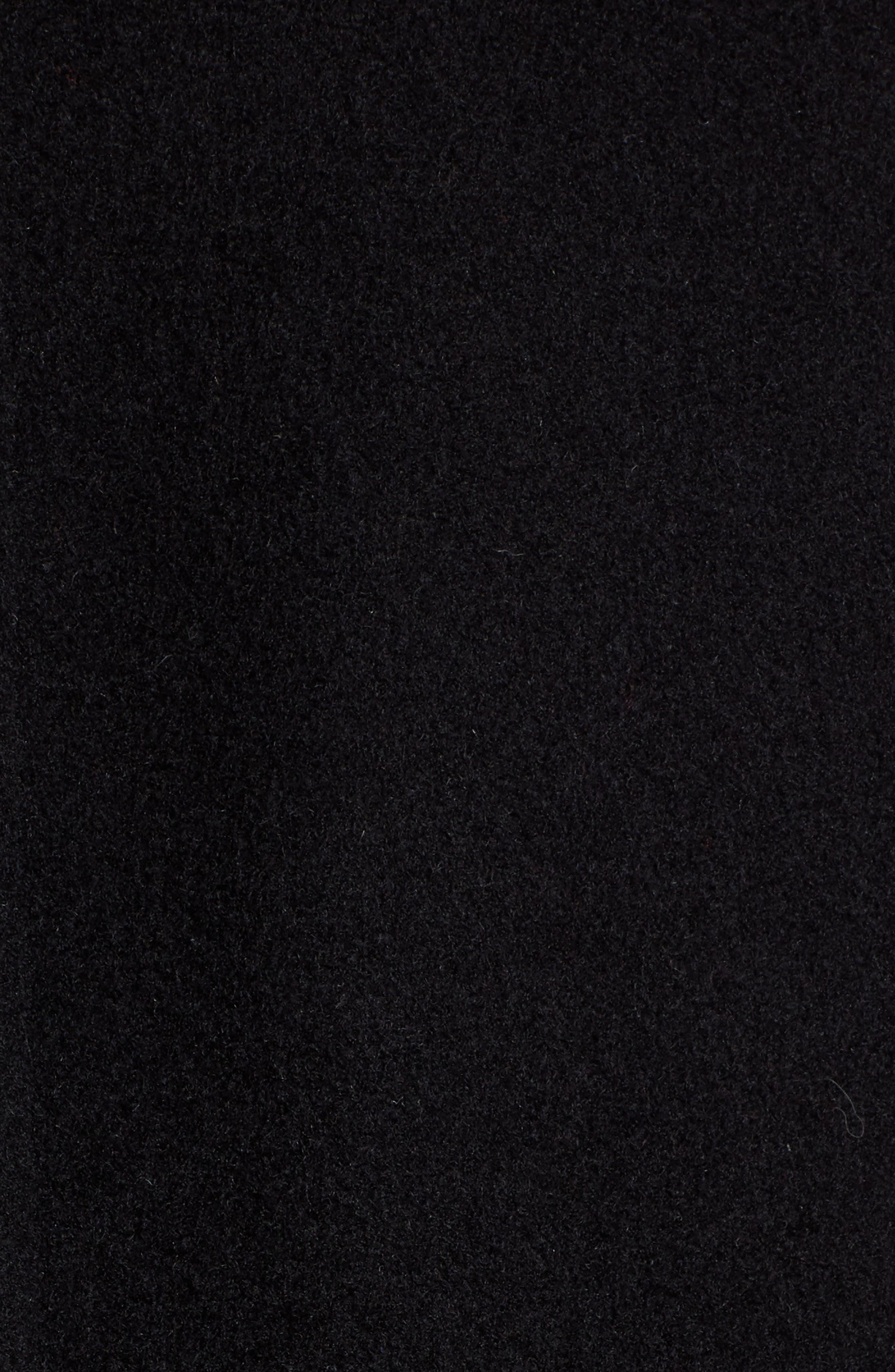 PENDLETON, Maritime Wool Blend Peacoat, Alternate thumbnail 7, color, BLACK