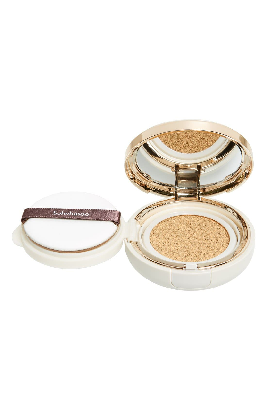 SULWHASOO, 'Perfecting Cushion' Foundation Compact, Alternate thumbnail 3, color, 23 MEDIUM BEIGE