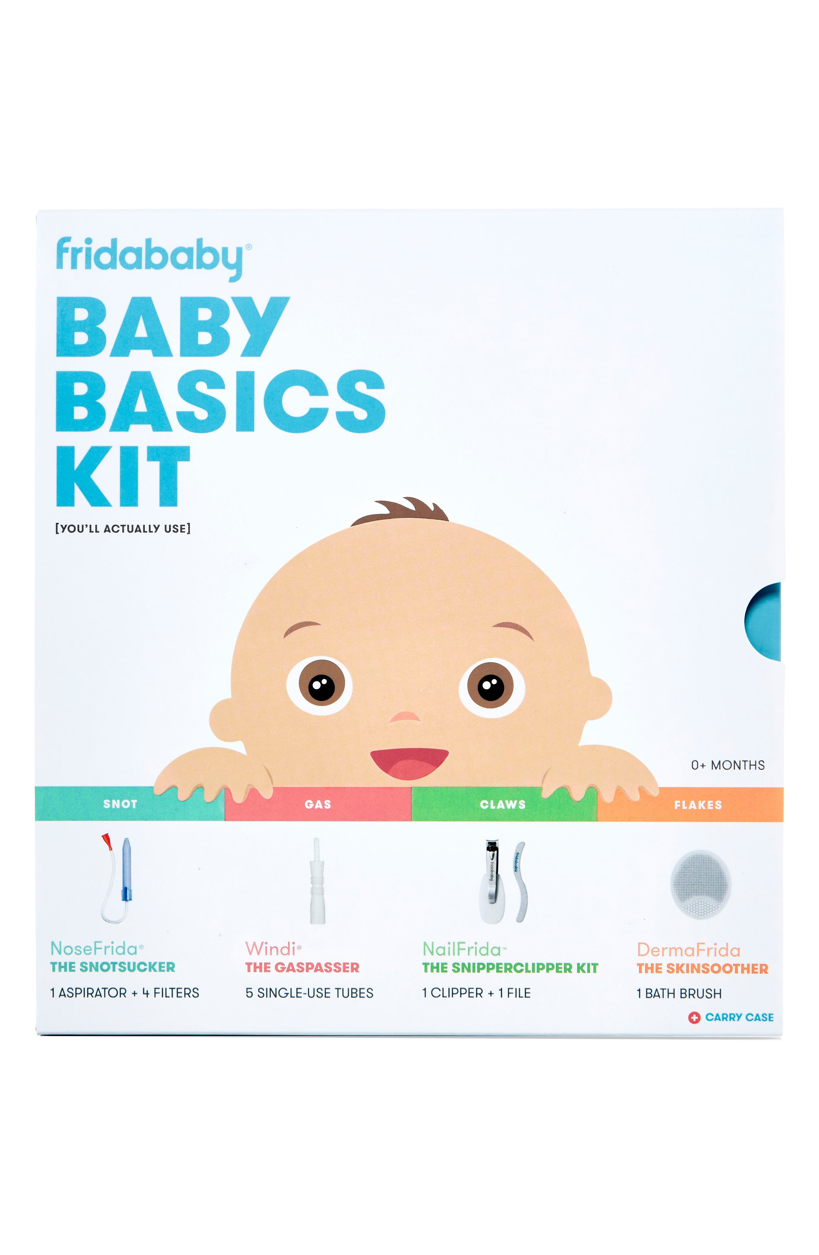 FRIDABABY, Baby Basics Kit, Alternate thumbnail 6, color, 100