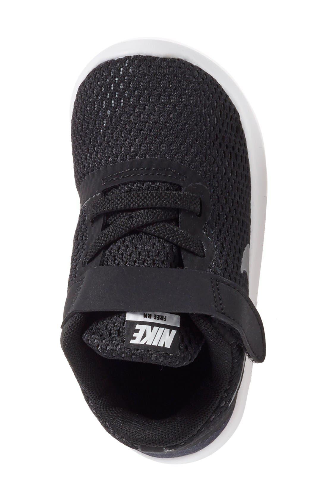 NIKE, Free RN Sneaker, Alternate thumbnail 3, color, 001
