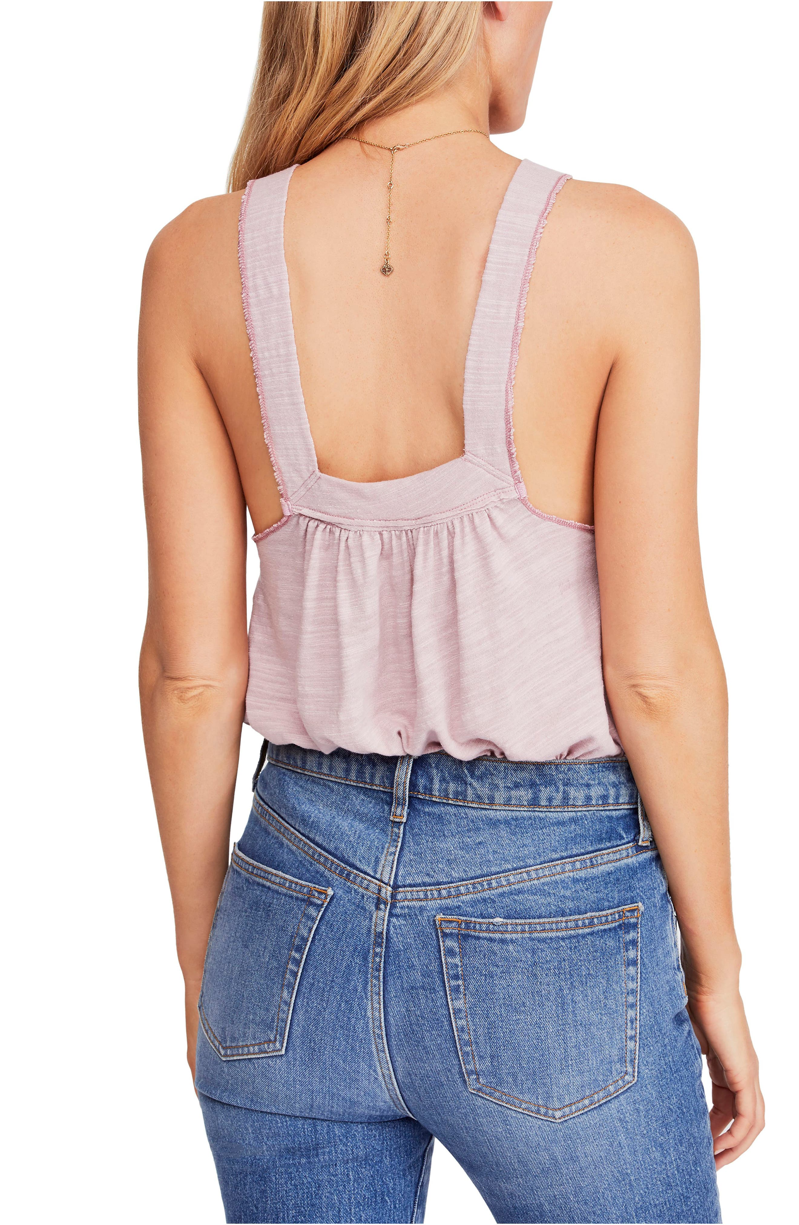 FREE PEOPLE, Good for You Tank, Alternate thumbnail 2, color, PINK