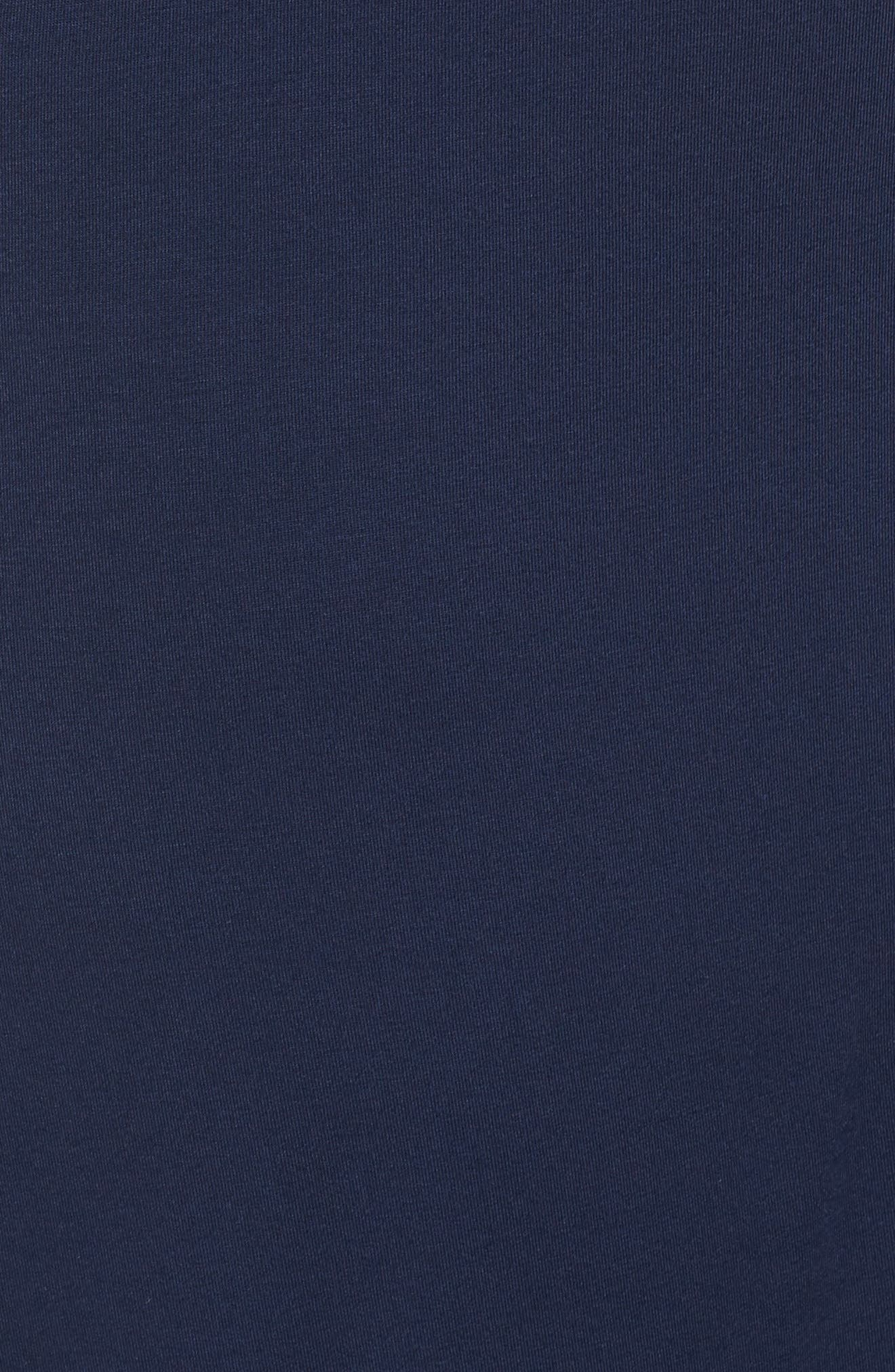 LAUREN RALPH LAUREN, Long Nightshirt, Alternate thumbnail 5, color, SPRING NAVY