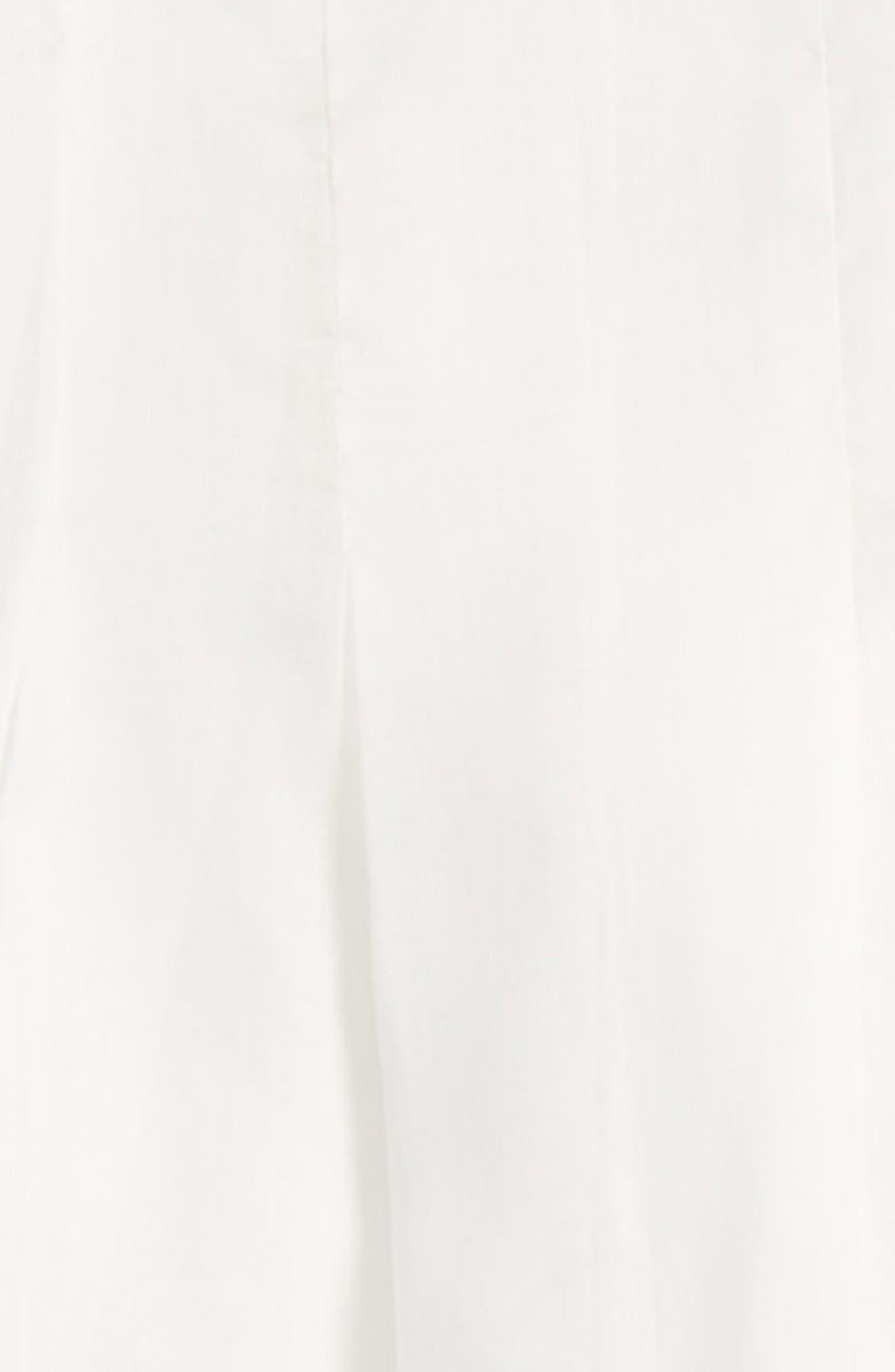 ISABEL GARRETON, Gracious Organdy Christening Gown & Bonnet Set, Alternate thumbnail 2, color, IVORY