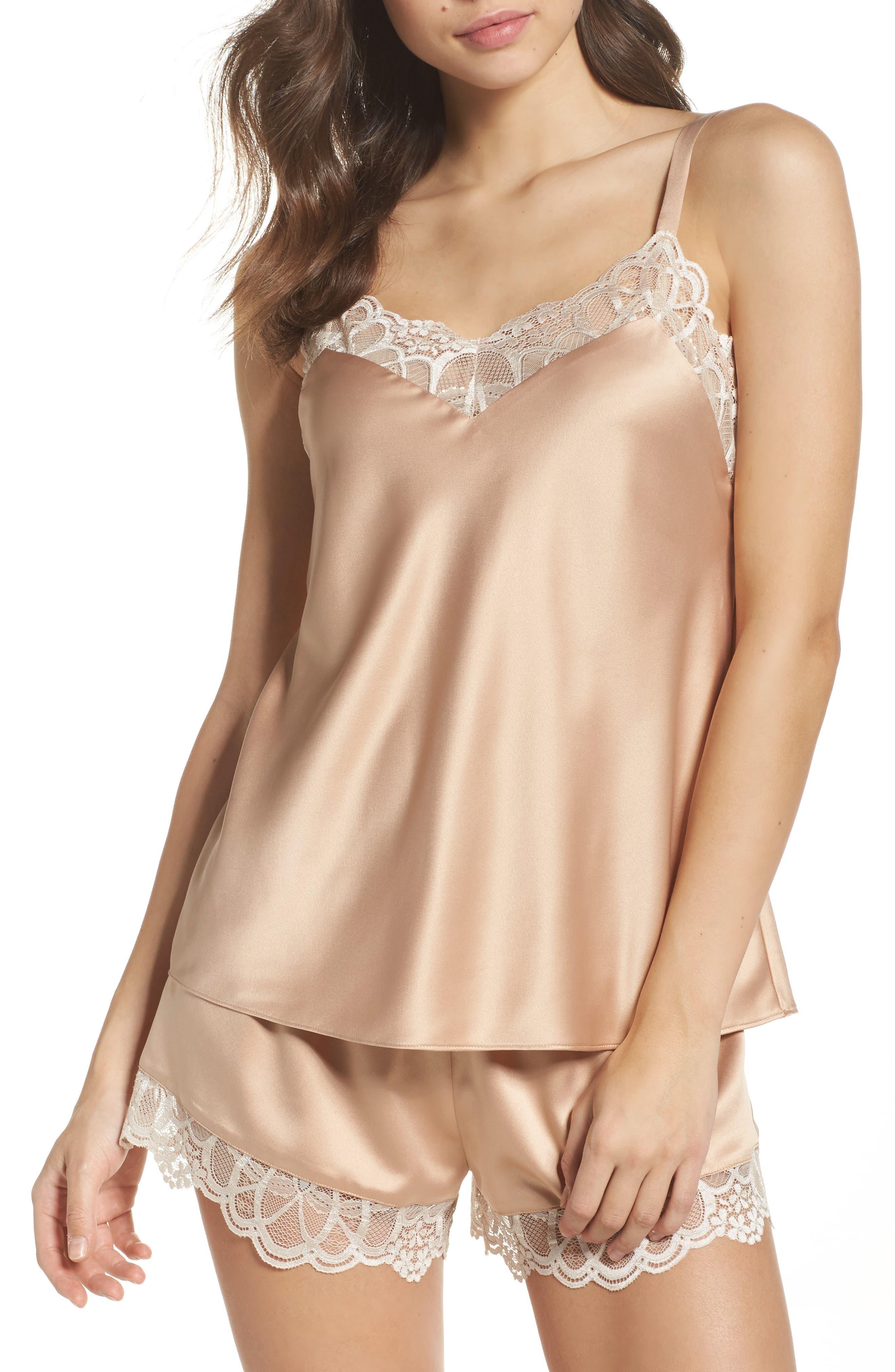 FLORA NIKROOZ Gabby Short Pajamas, Main, color, 250