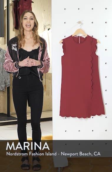 Jasmint Scallop Overlay Dress, sales video thumbnail
