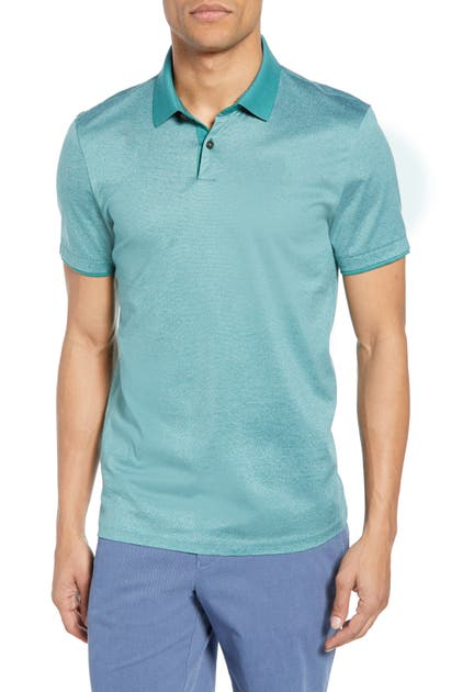 Boss Tops PITTON FINELINER SLIM FIT POLO