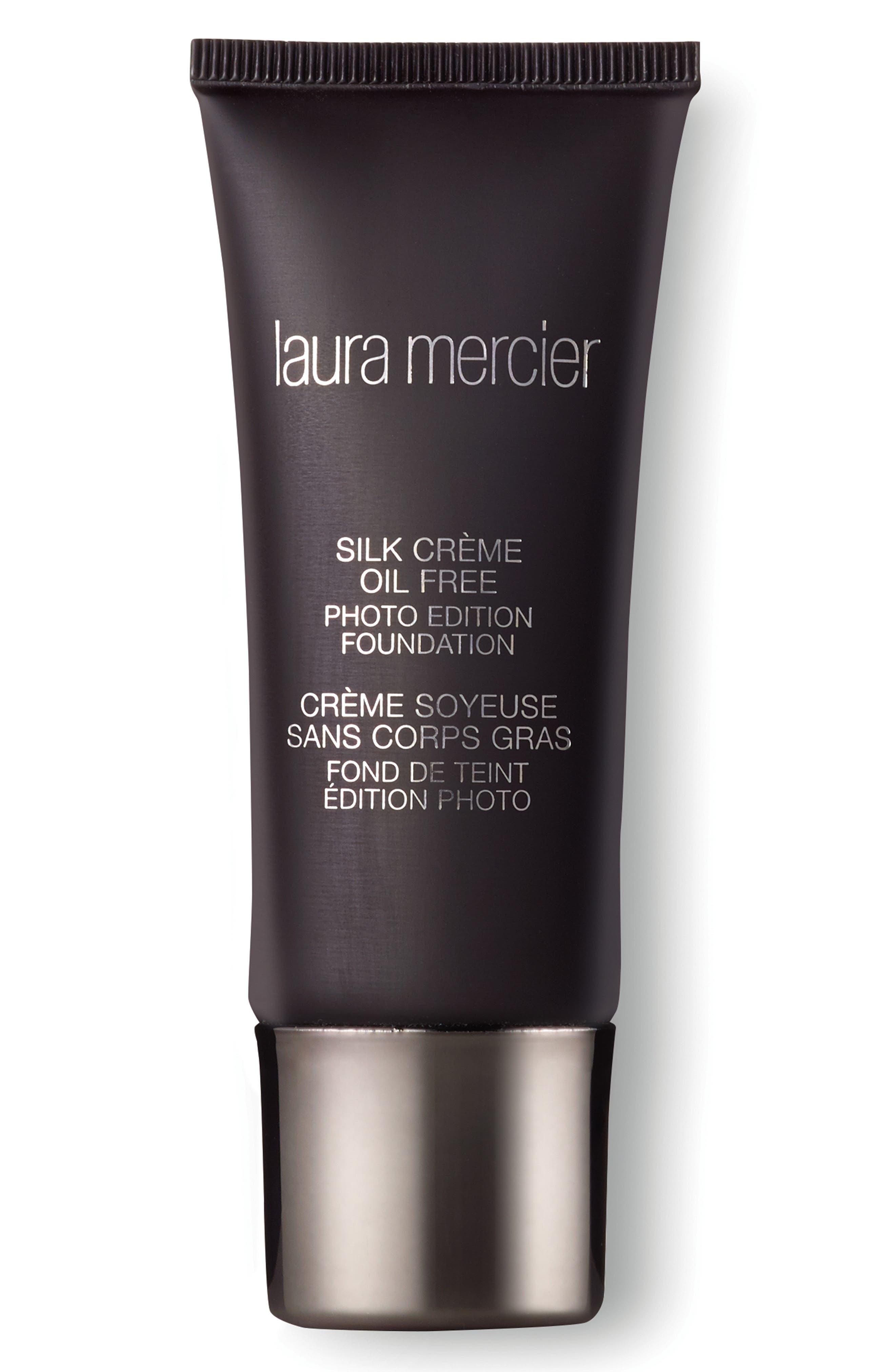 LAURA MERCIER, Silk Crème Oil-Free Photo Edition Foundation, Main thumbnail 1, color, SUNTAN