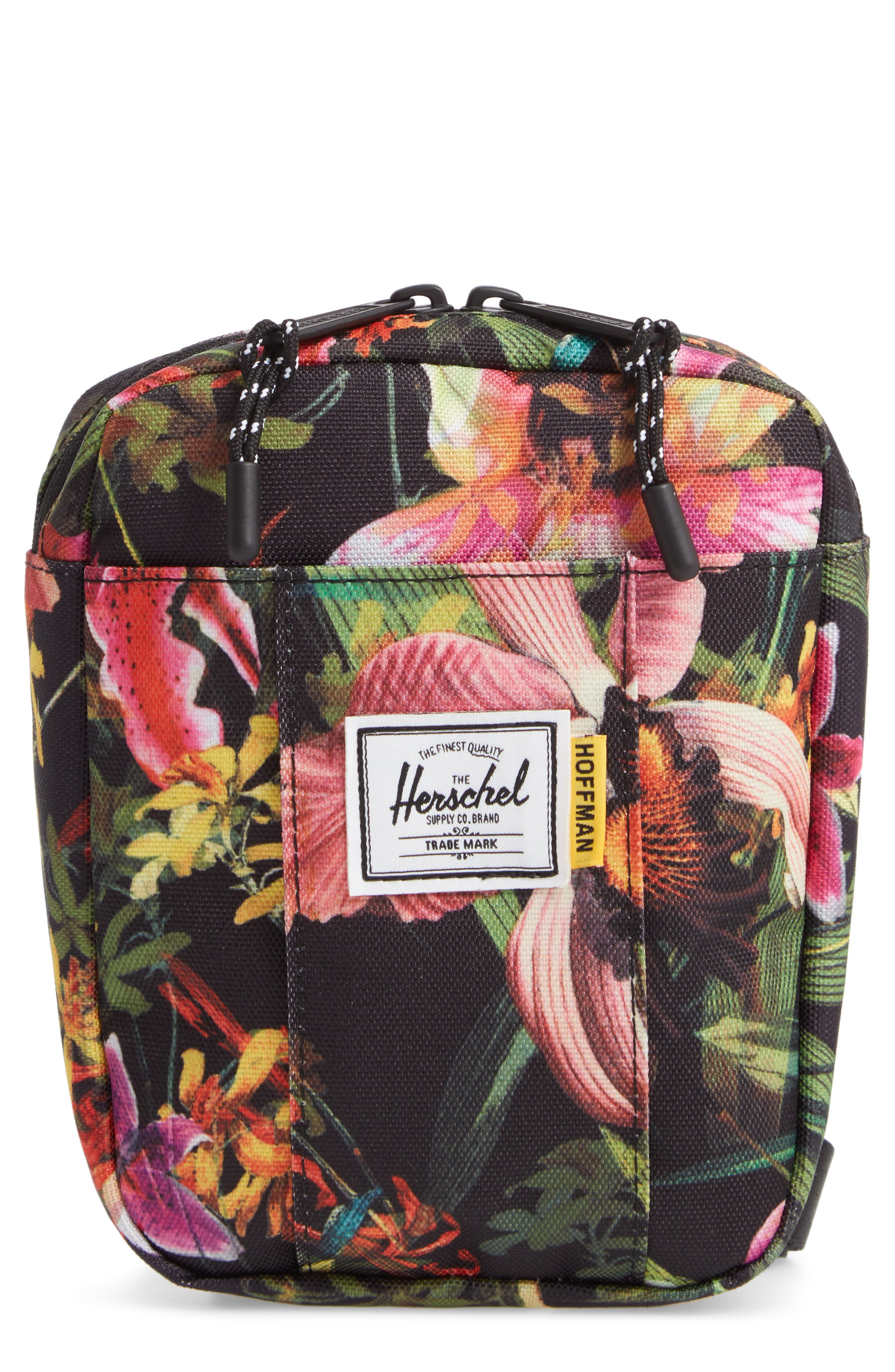 HERSCHEL SUPPLY CO. Cruz Crossbody Bag, Main, color, JUNGLE HOFFMAN